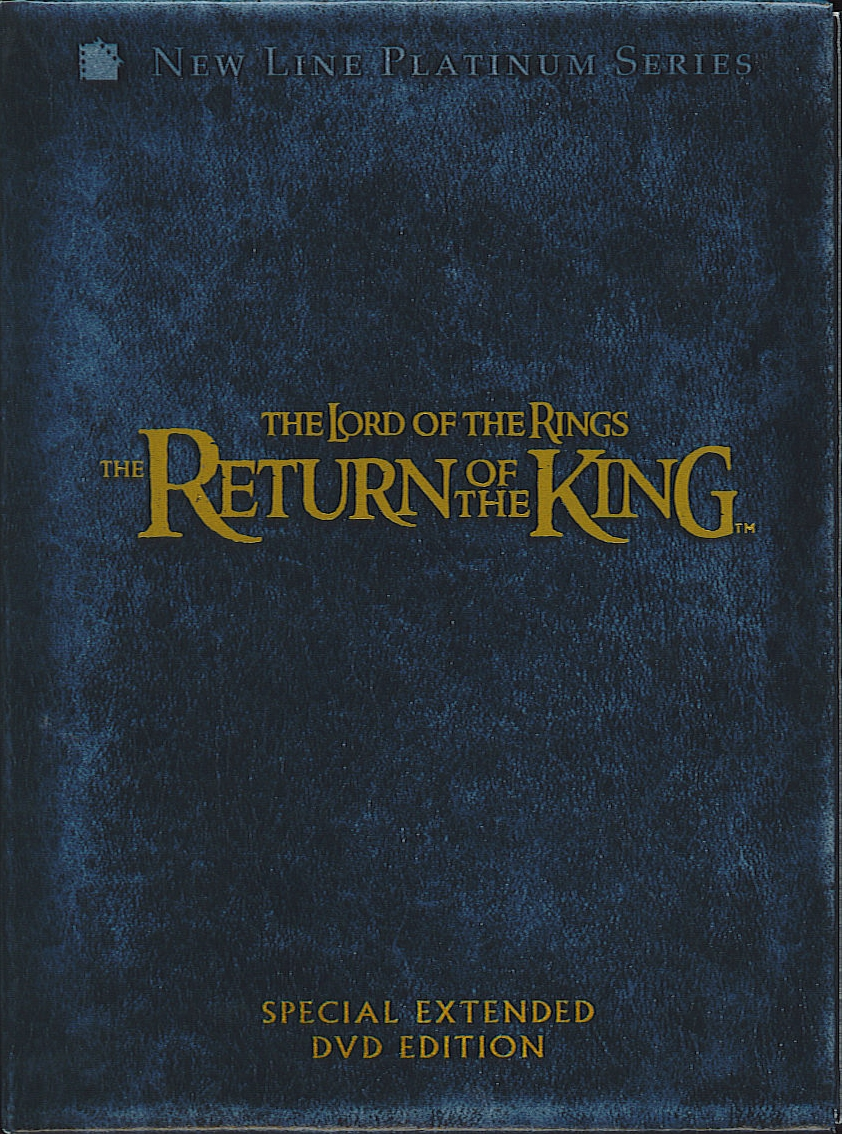 Lord Of The Rings Return Of The King Dvd Cover | www ...