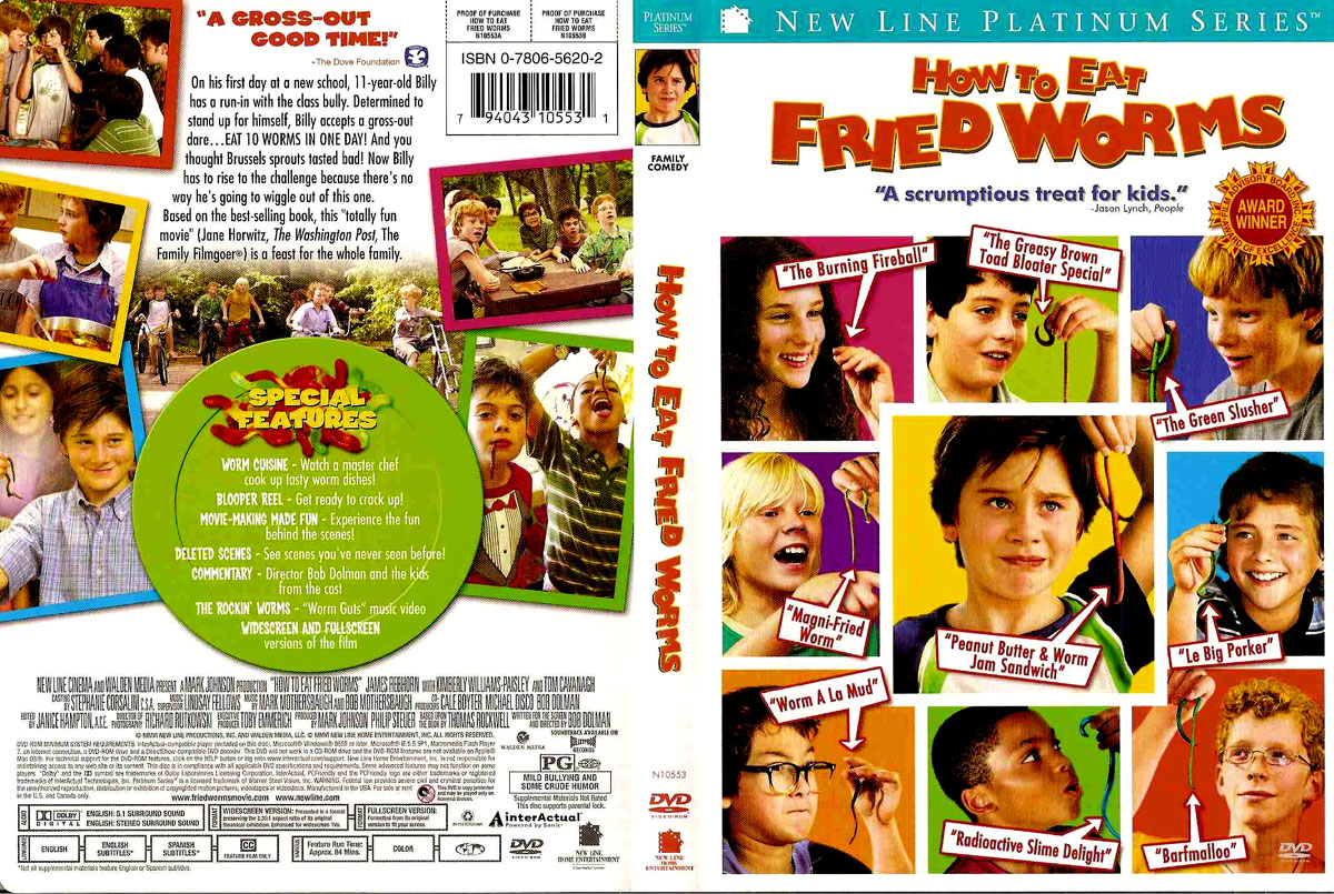 Click Here For Full Size Image How To Eat Fried Worms Full Movie