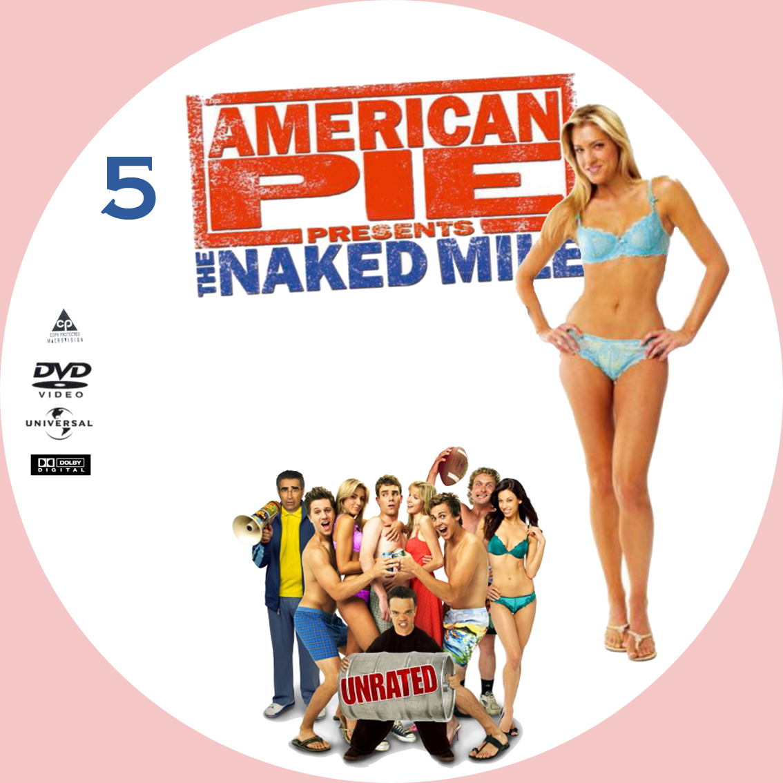 American dvd mile naked pie