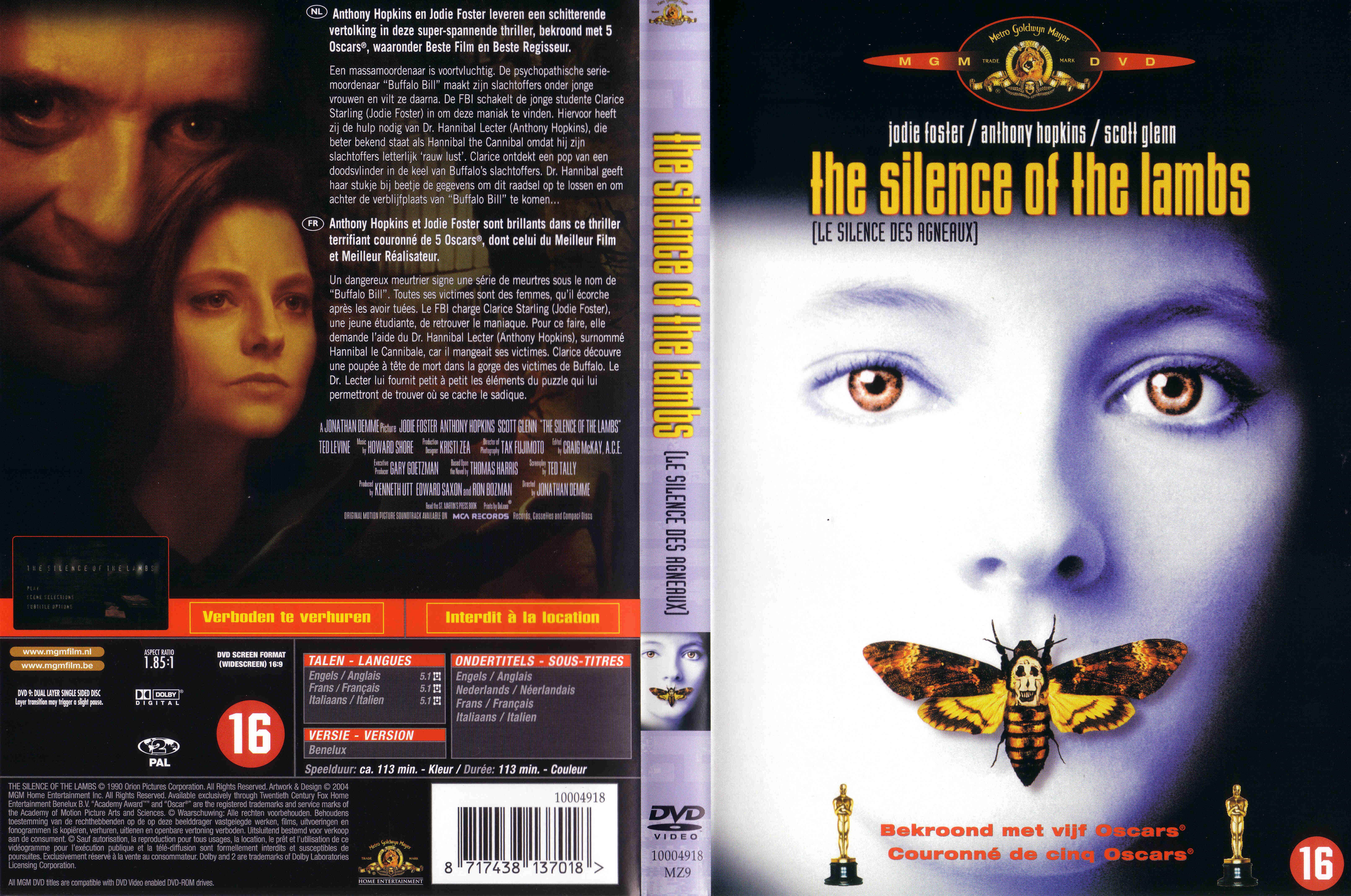 an overview of the movie the silence of the lambs