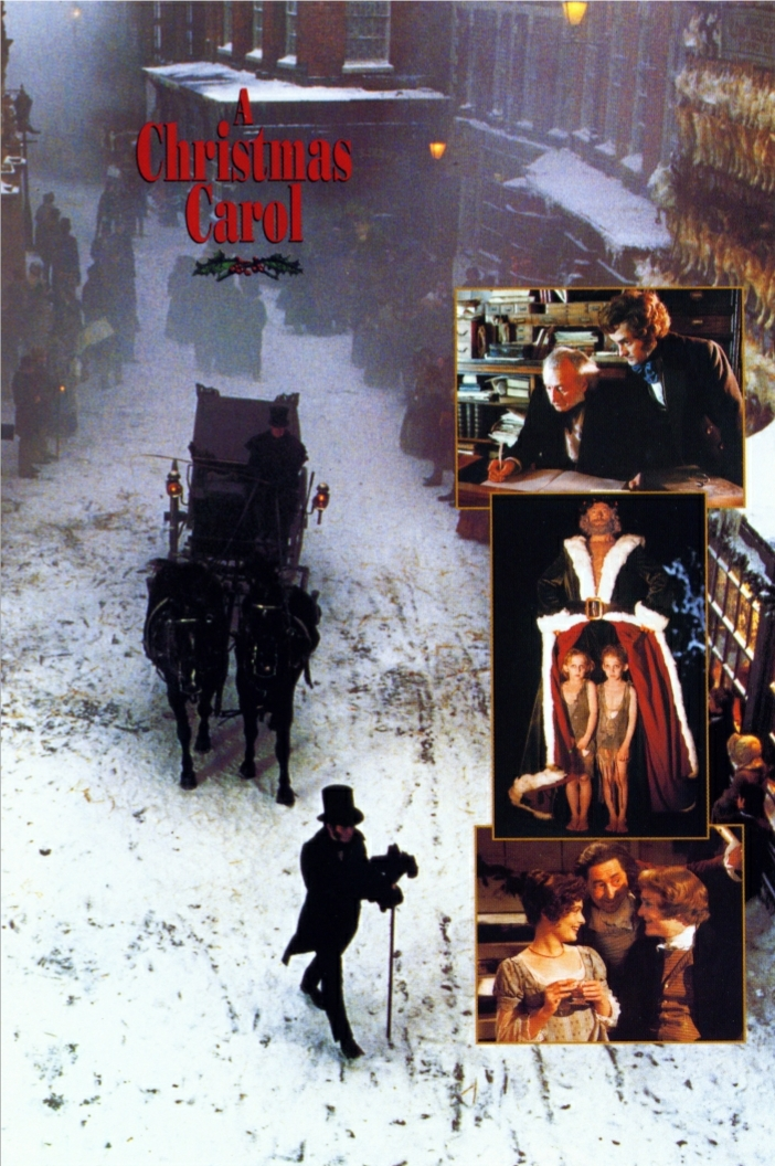 George C Scott A Christmas Carol.Covers Box Sk A Christmas Carol George C Scott Inside