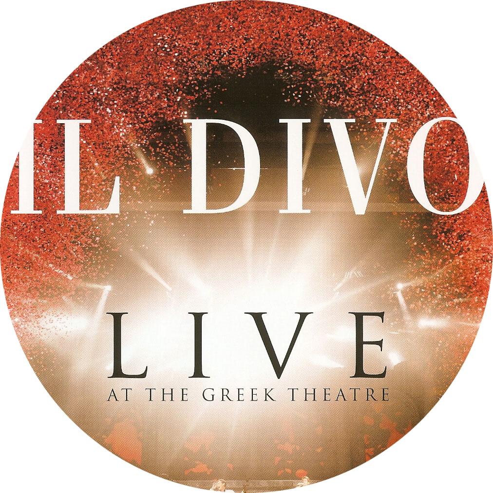 Covers box sk il divo live at the greek theatre for Il divo cd list