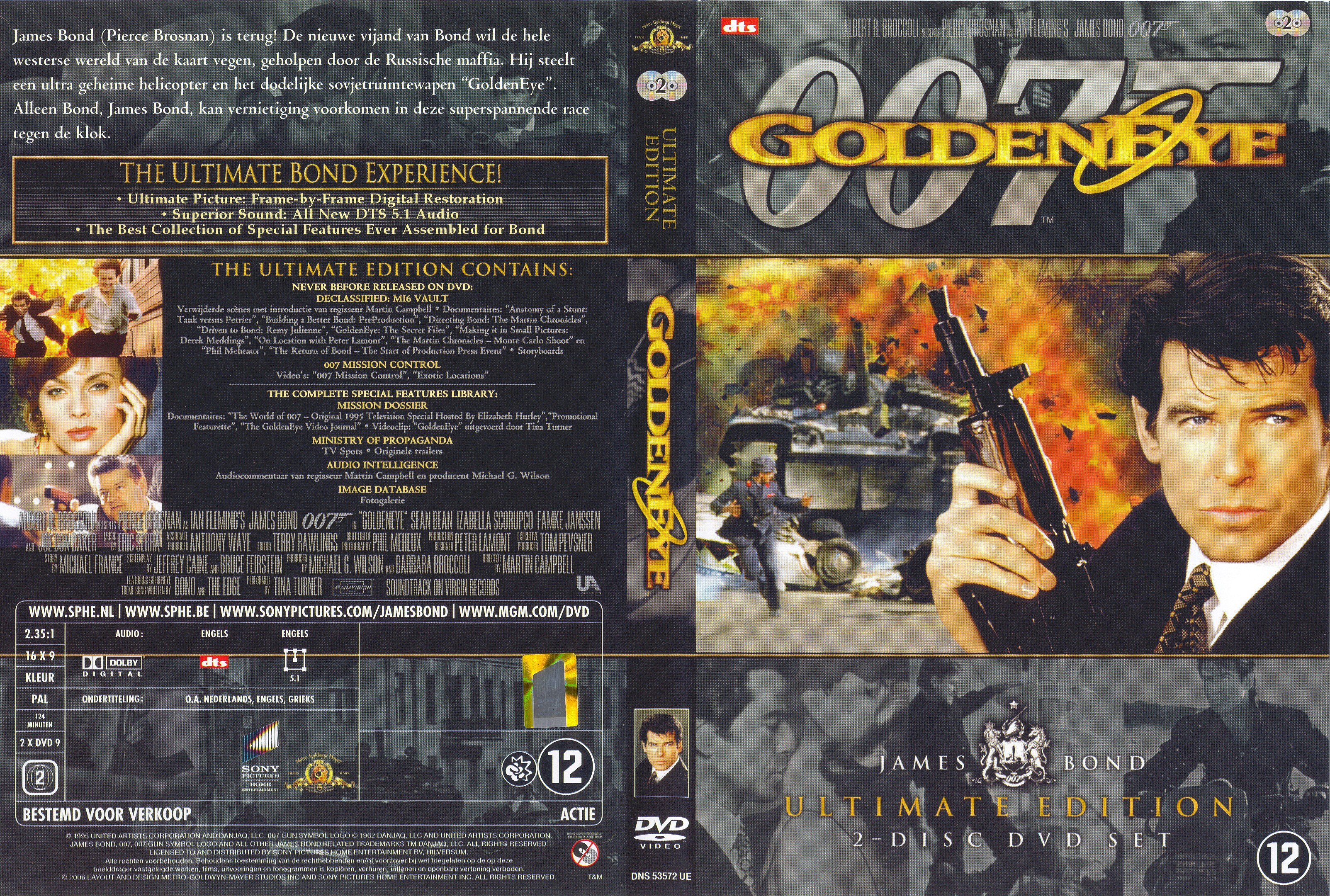 James bond ultimate edition vol 3 goldeneye live and let die for.