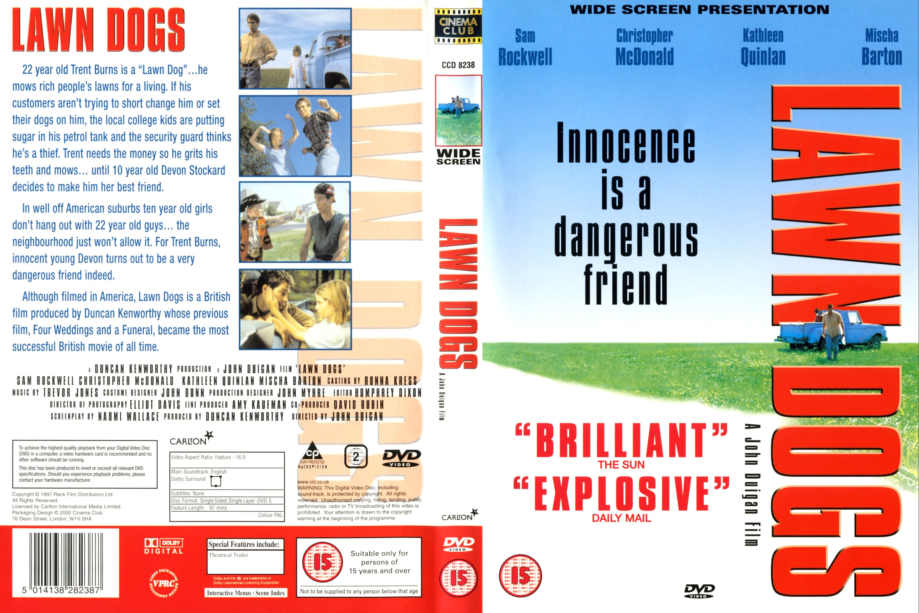 lawn dogs full movie