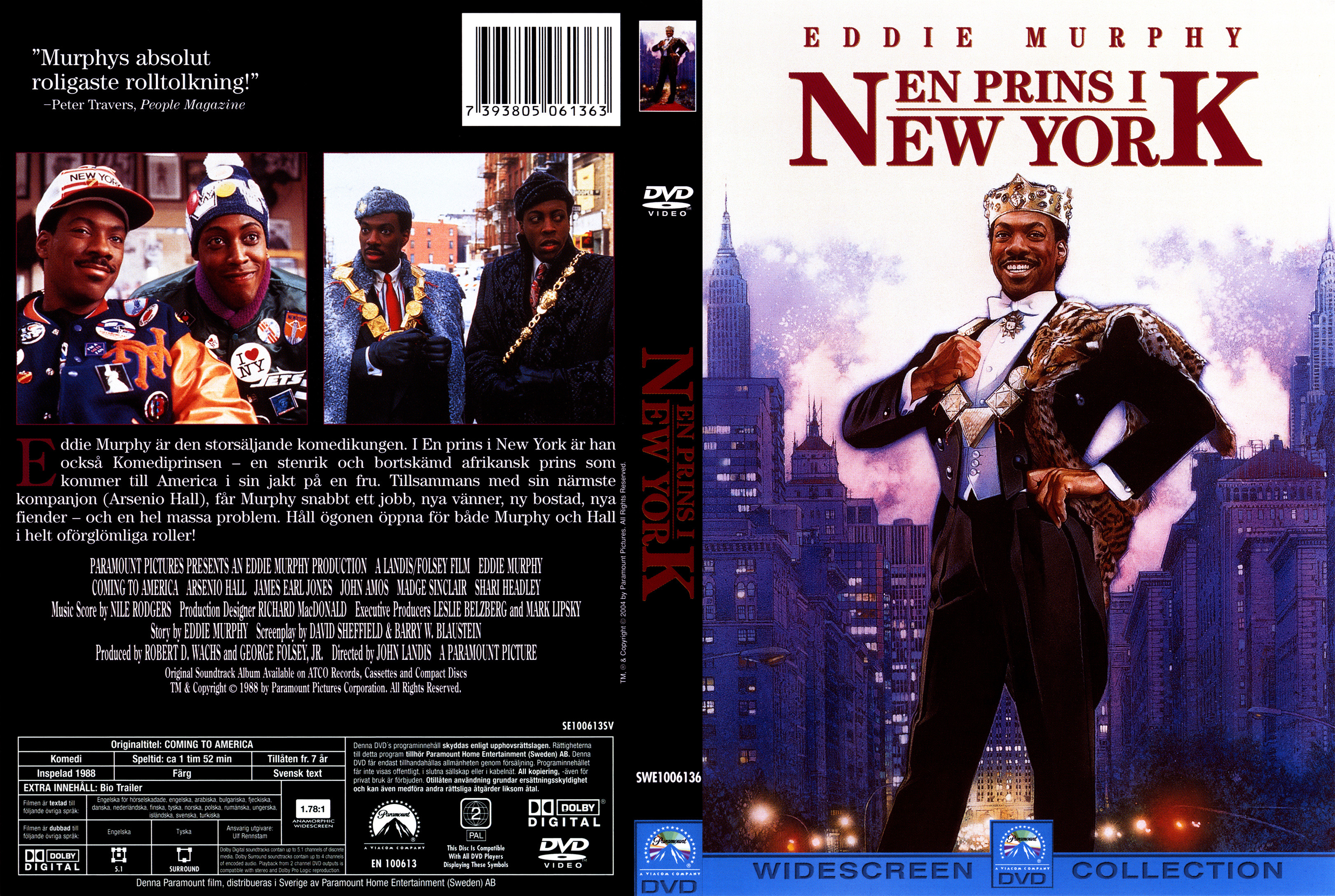 Covers Box Sk Coming To America 1988 High Quality Dvd Blueray Movie