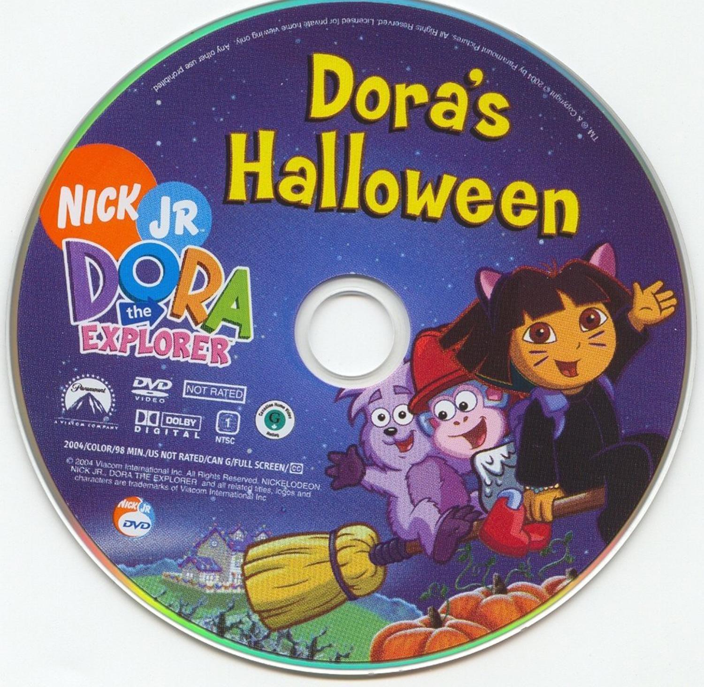 Dora The Explorer Doras Halloween Dvd