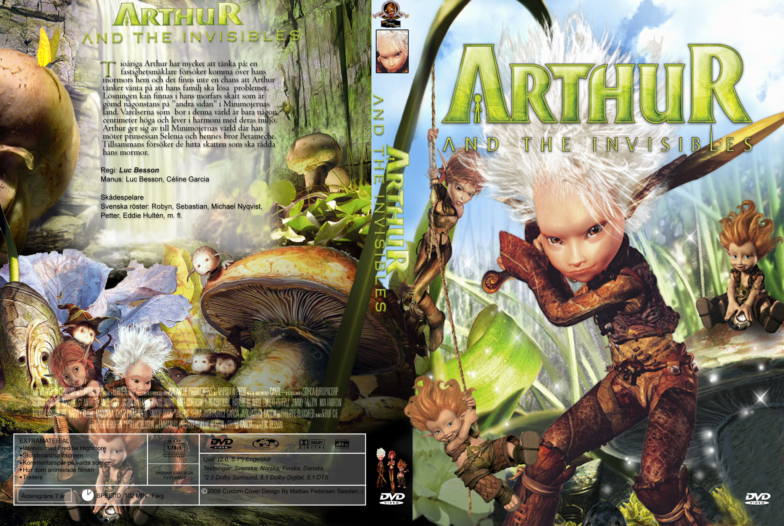 Covers Box Sk Arthur And The Invisibles High Quality Dvd Blueray Movie
