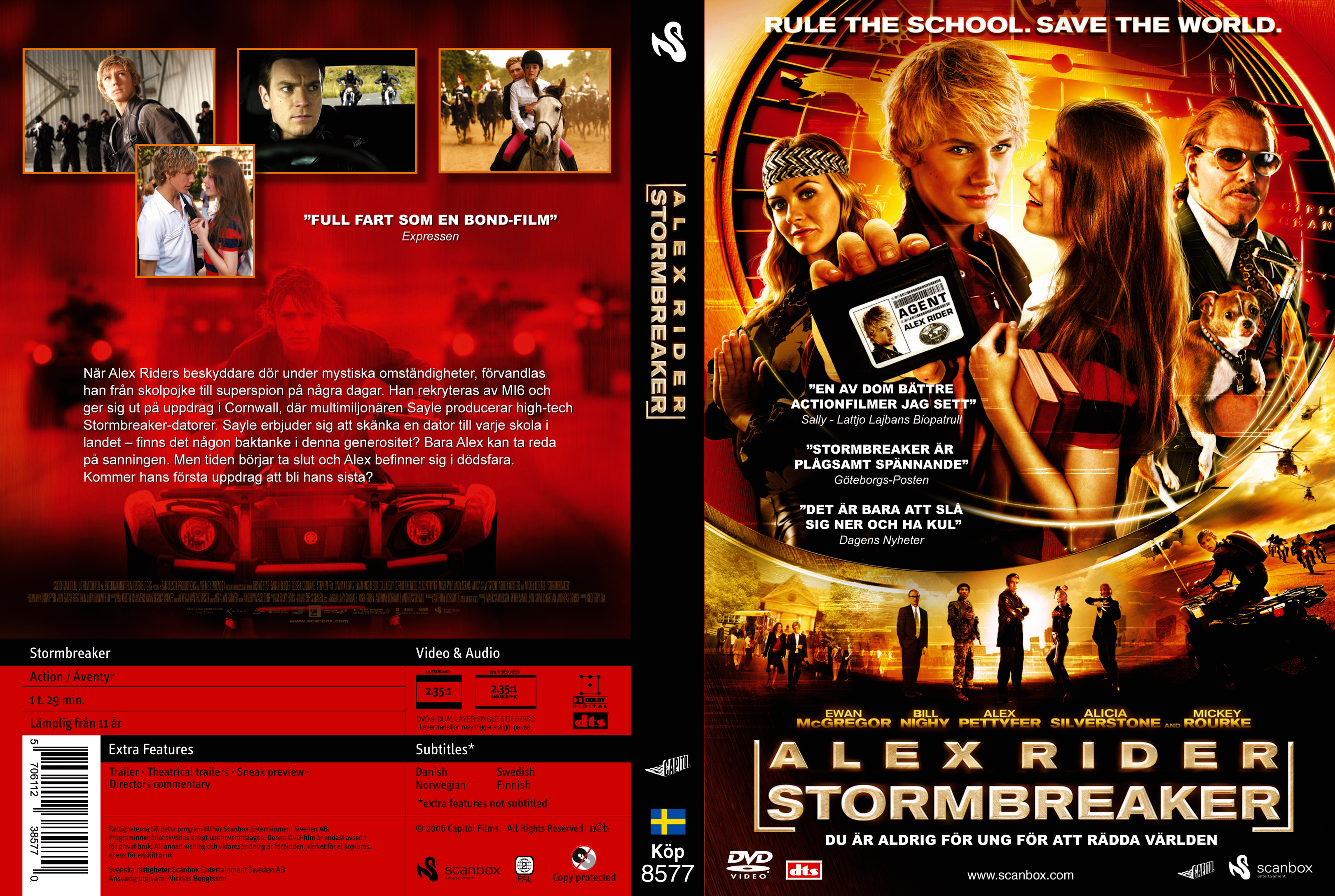 alex rider stormbreaker Alex rider: operation stormbreaker (2006) cast (38) ian rider bill nighy alan blunt alan blunt sophie okonedo mrs jones alex pettyfer alex rider missi.