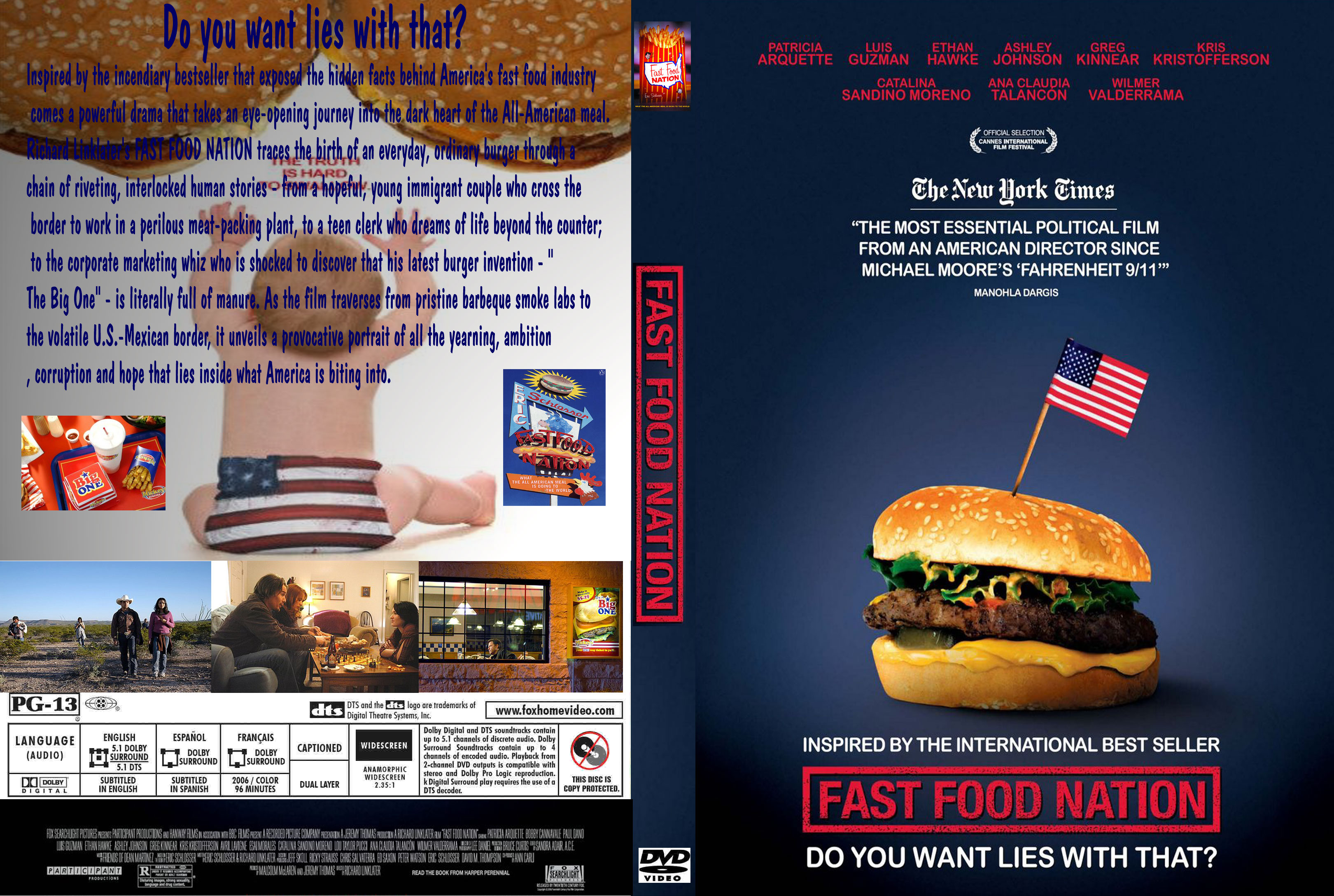 Fast Food Nation Dvd Cover