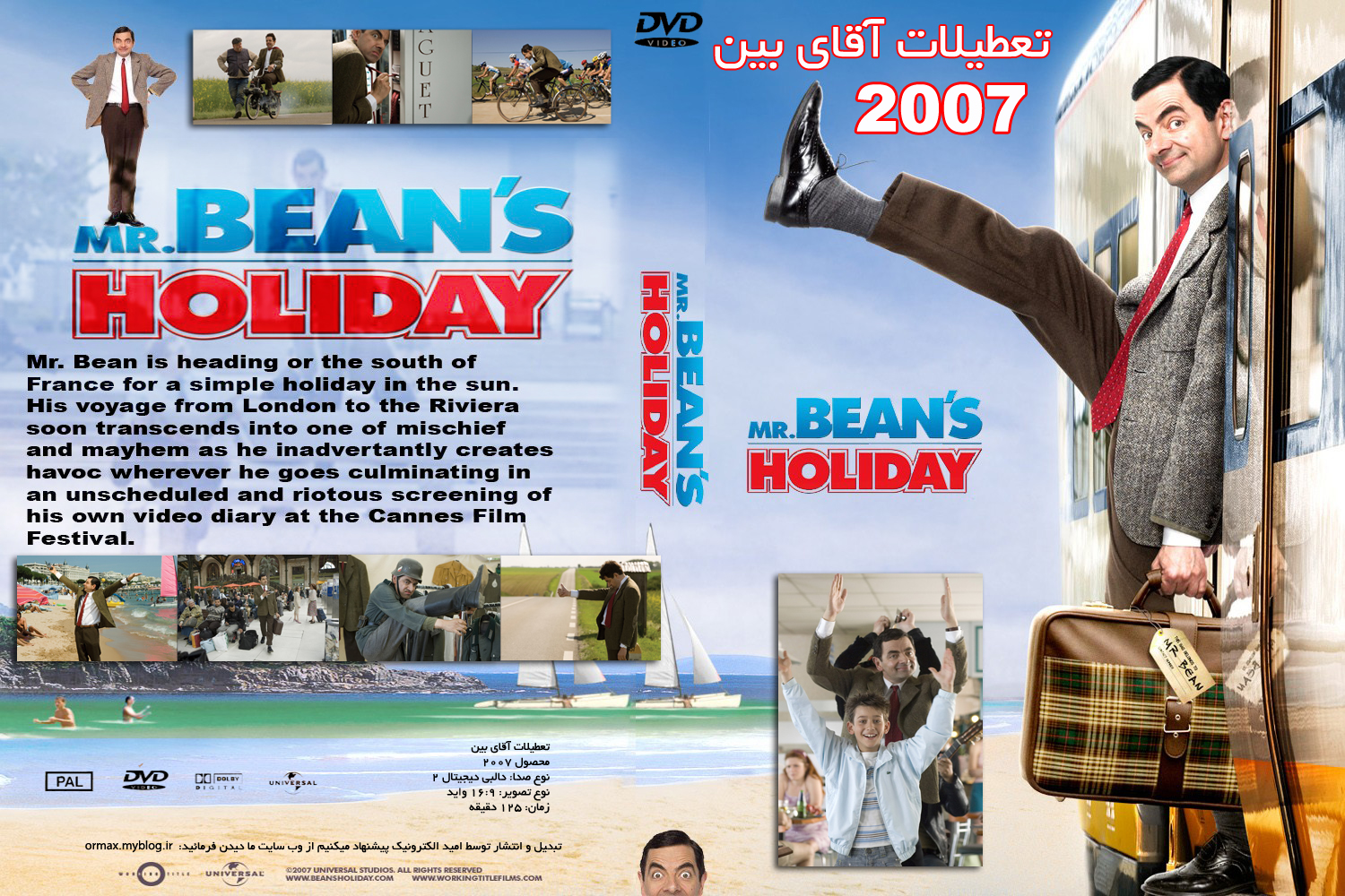 Mr Bean S Holiday 2007 Live Video 24h