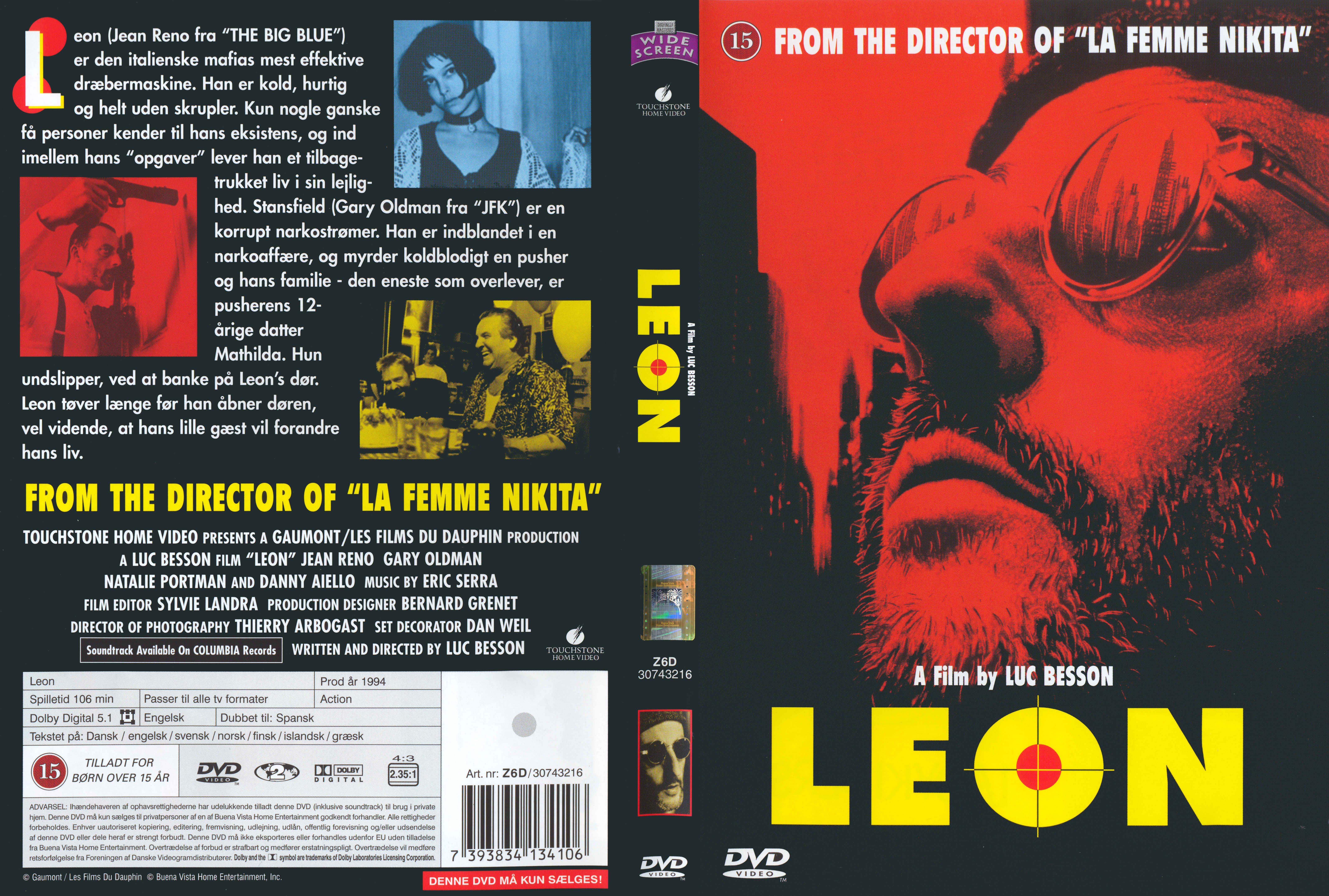 COVERS BOX SK ::: Leon - high quality DVD / Blueray / Movie