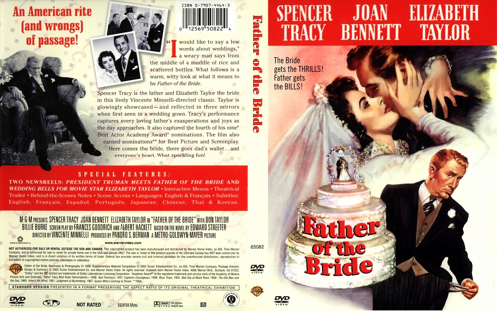 Father Of The Bride 1950 Movie