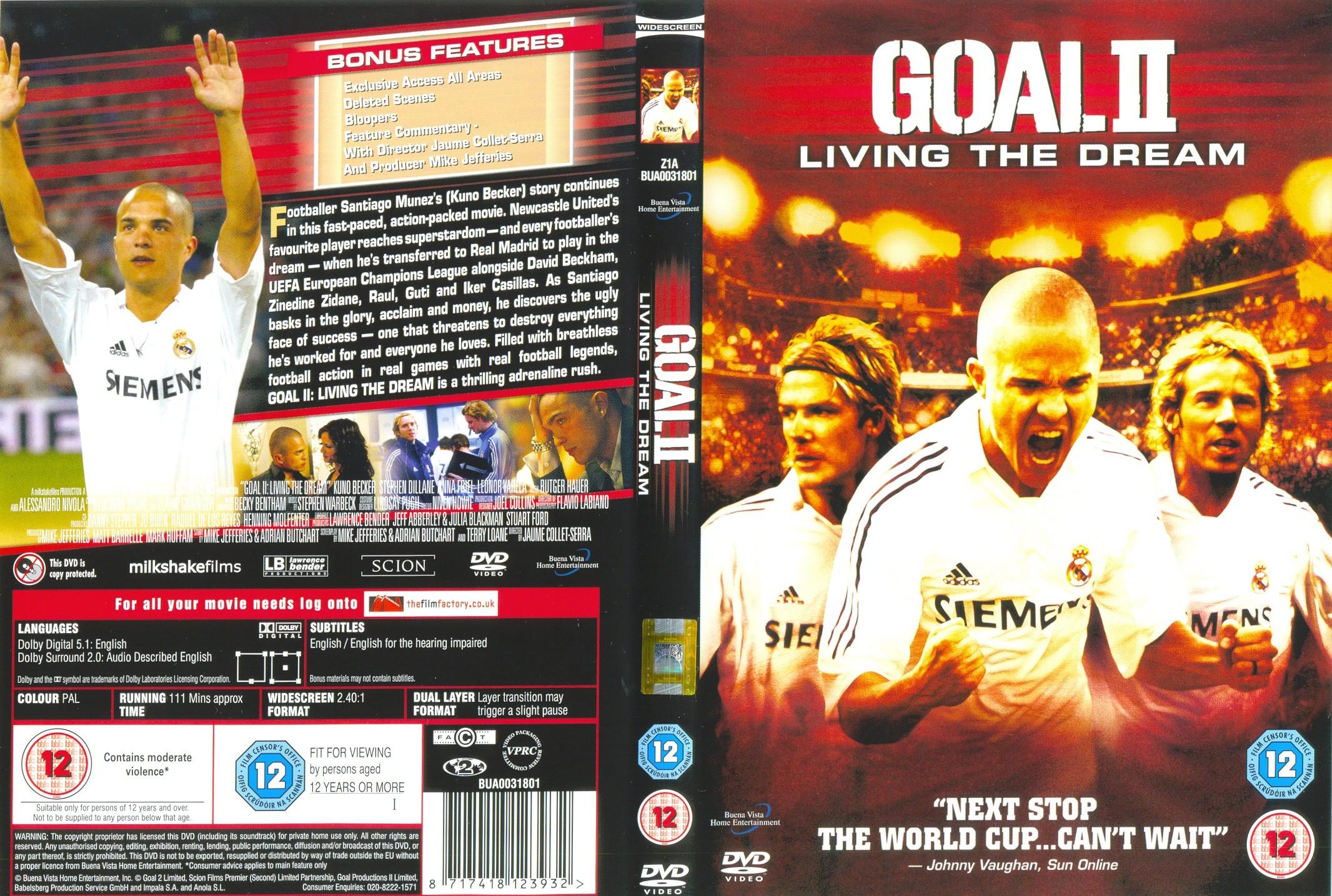 Subtitles goal ii: living the dream subtitles english 2cd srt (eng).