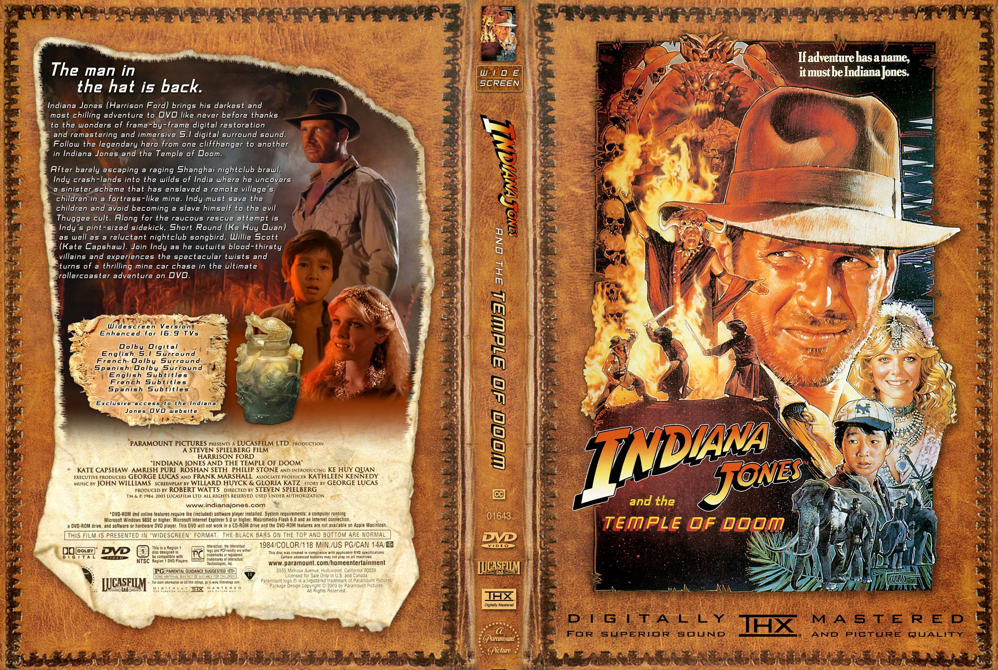 coversboxsk indiana jones and the temple of doom