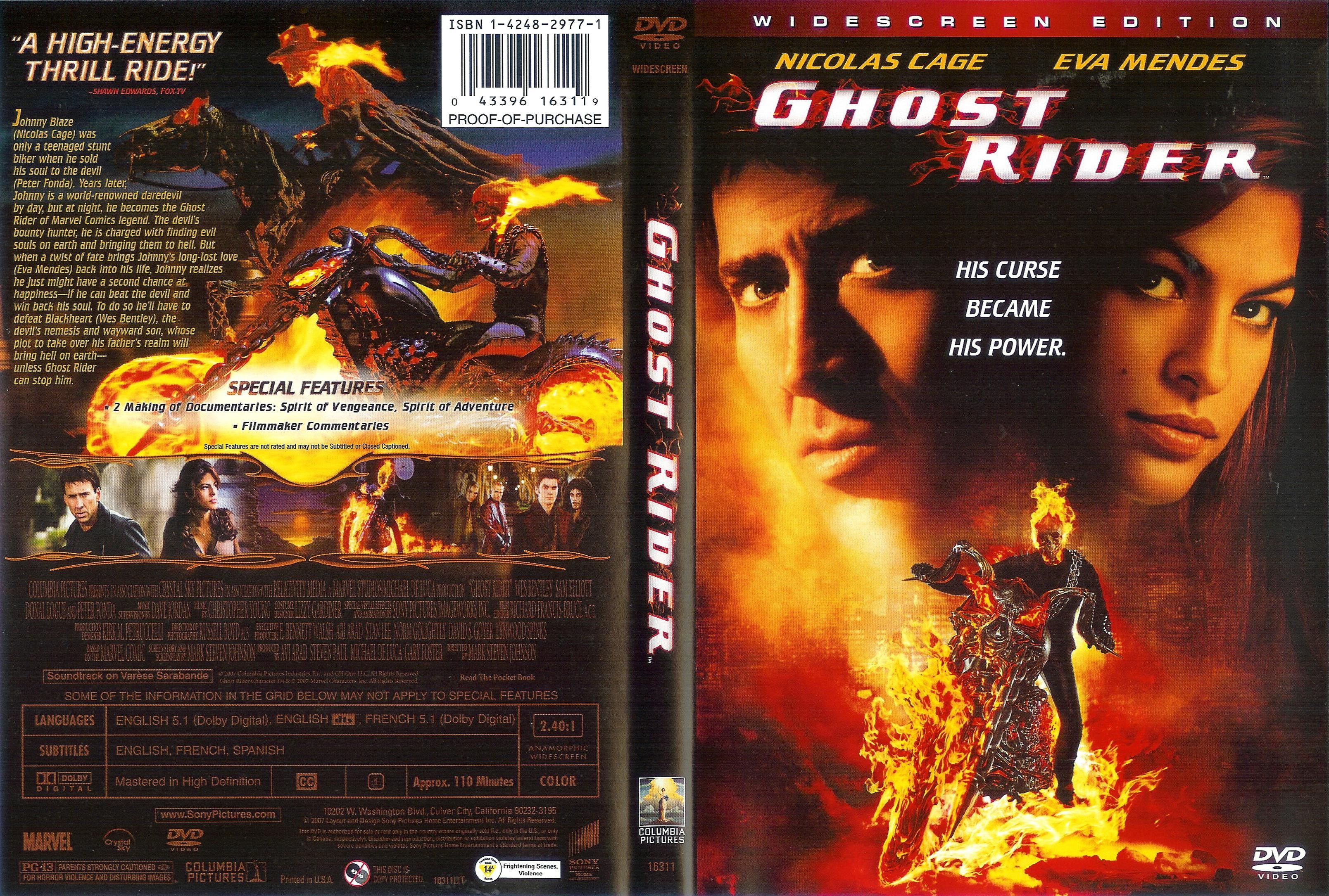 Ghost rider 2 in nackt nude movie