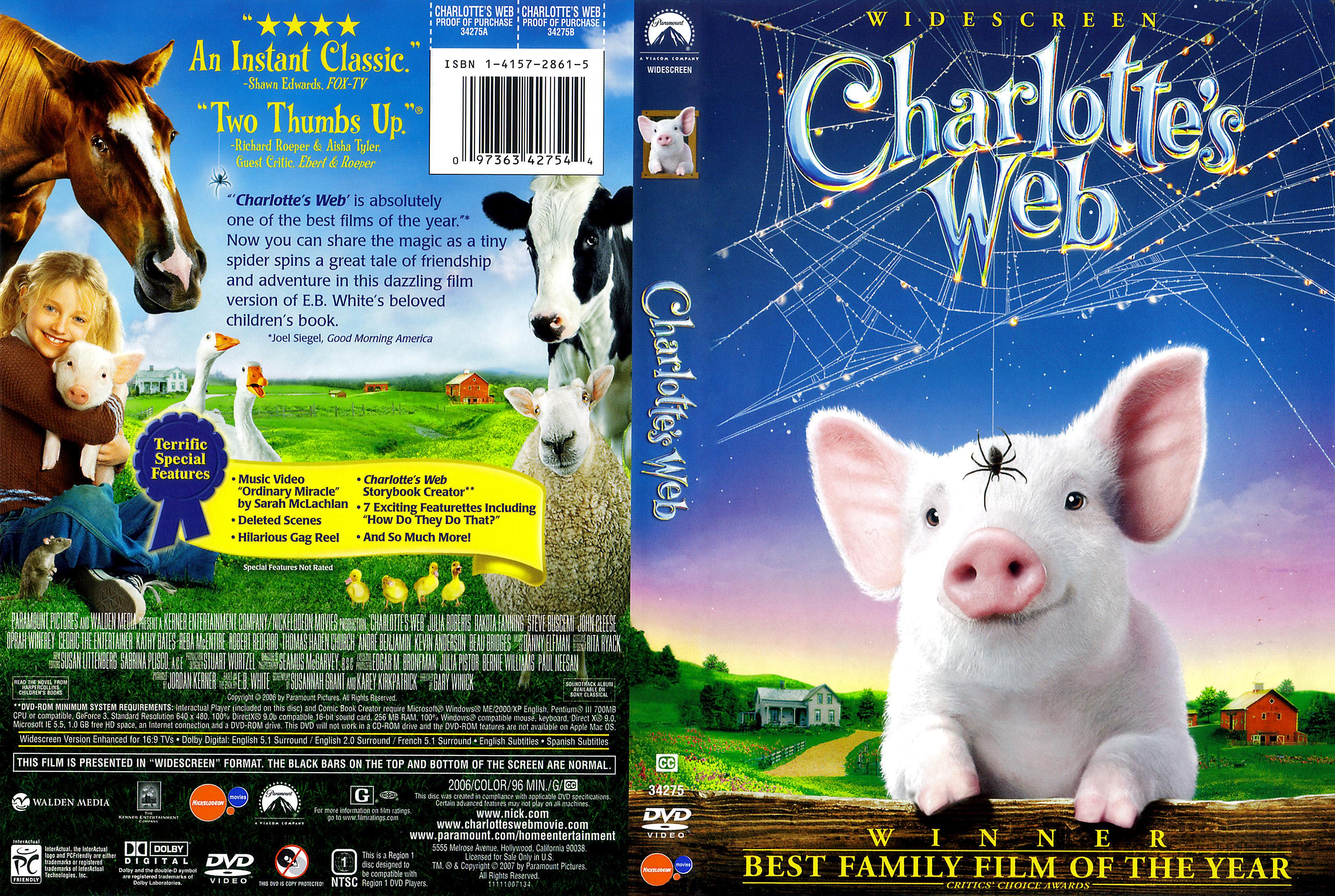 coversboxsk charlottes web english high quality