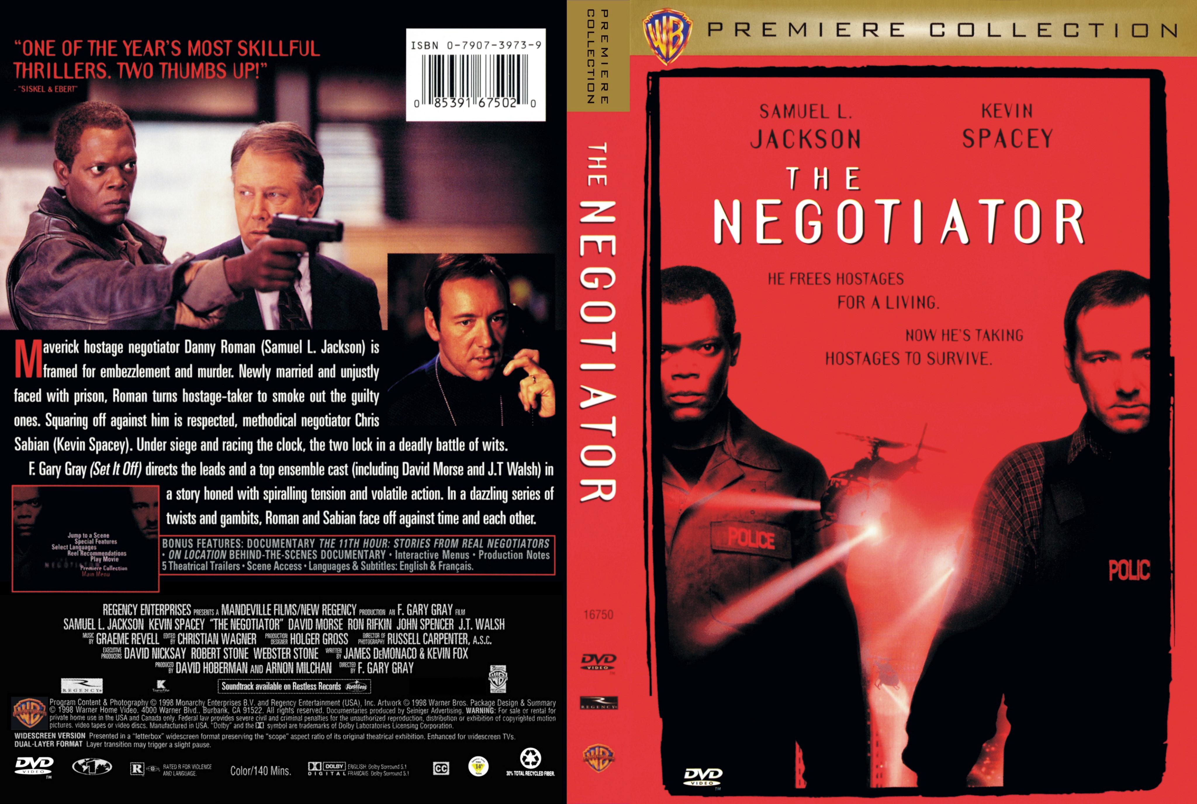 Negotiator Movie Covers Box Sk The Negotiator 1998 High