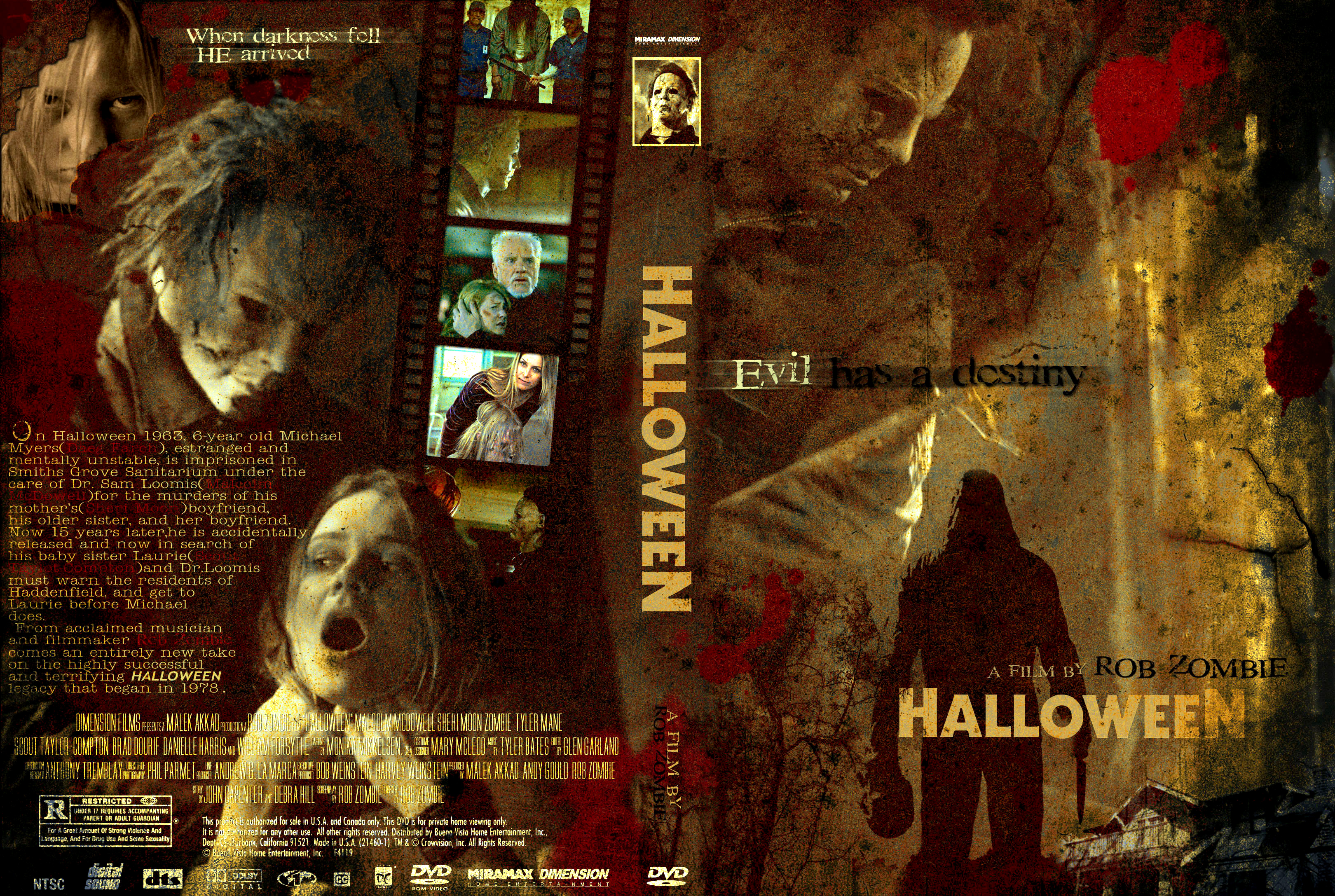 COVERS.BOX.SK ::: Halloween 2007 - Halloween - The Remake - high ...