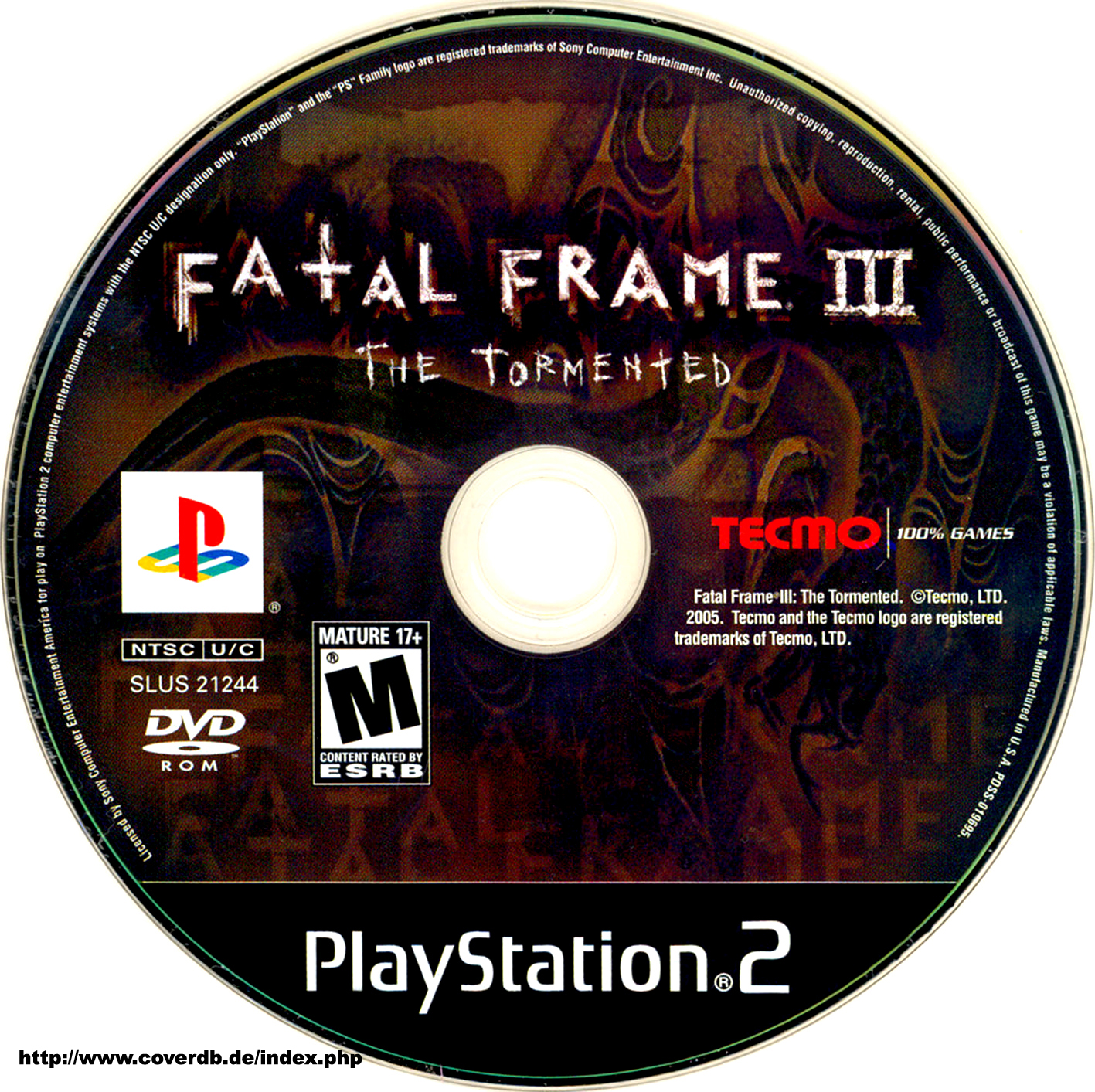 COVERS.BOX.SK ::: fatal frame 3 the tormented - high quality DVD ...