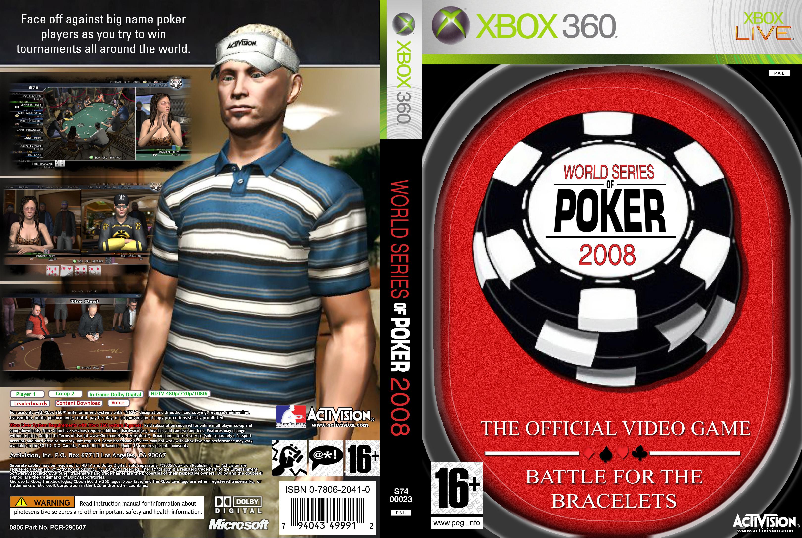 World Series Poker Game 2008