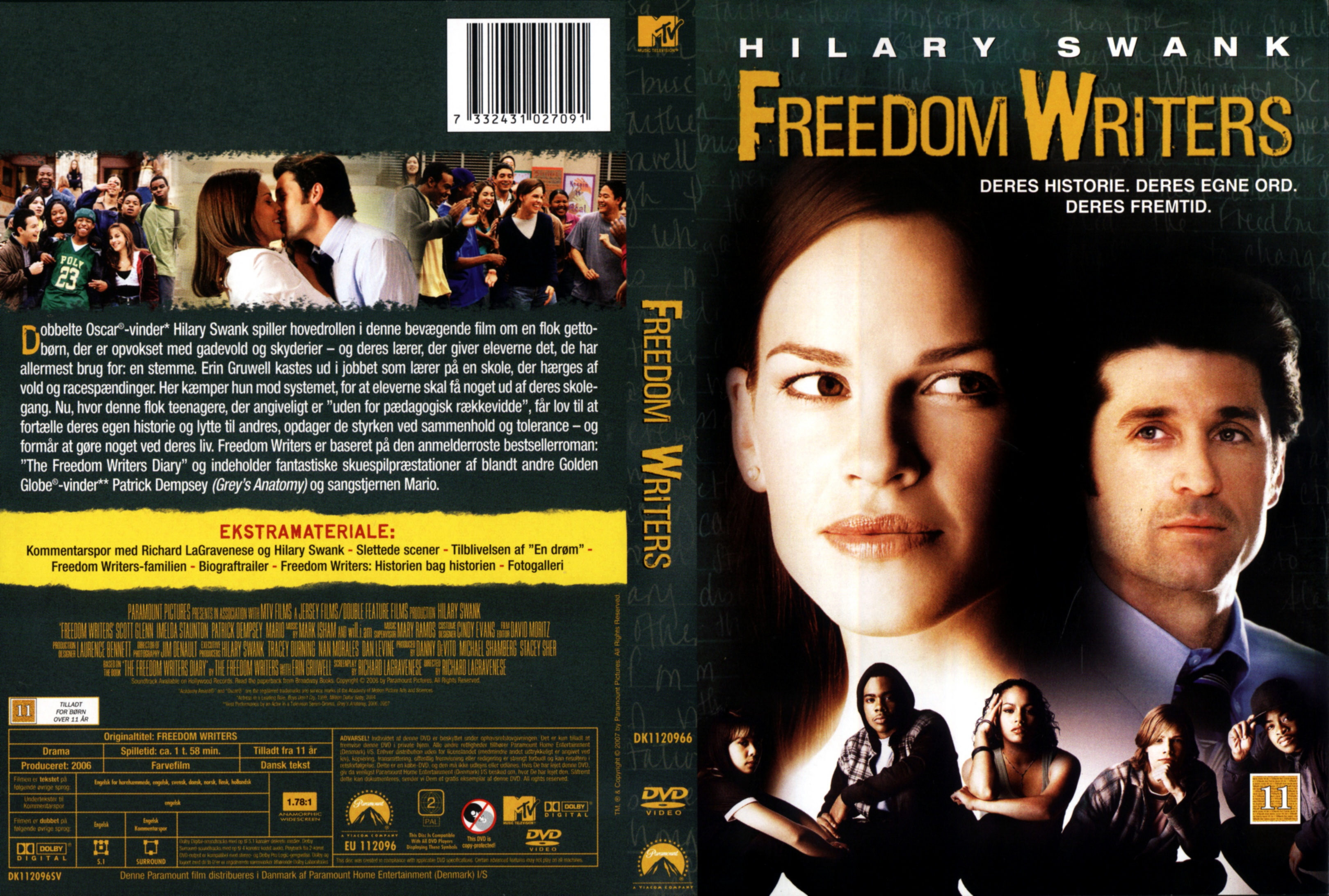 COVERS.BOX.SK ::: Freedom Writers - high quality DVD / Blueray / Movie