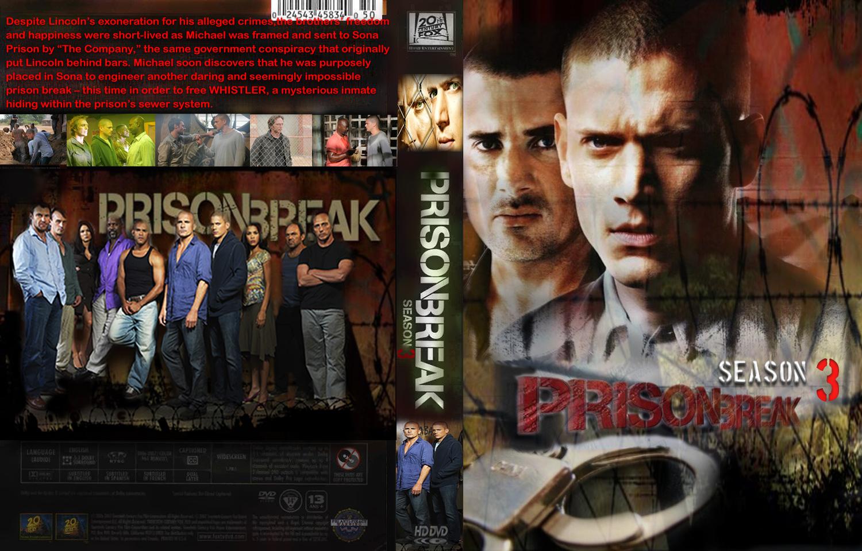 Coversboxsk Prison Break The Complete Third Season