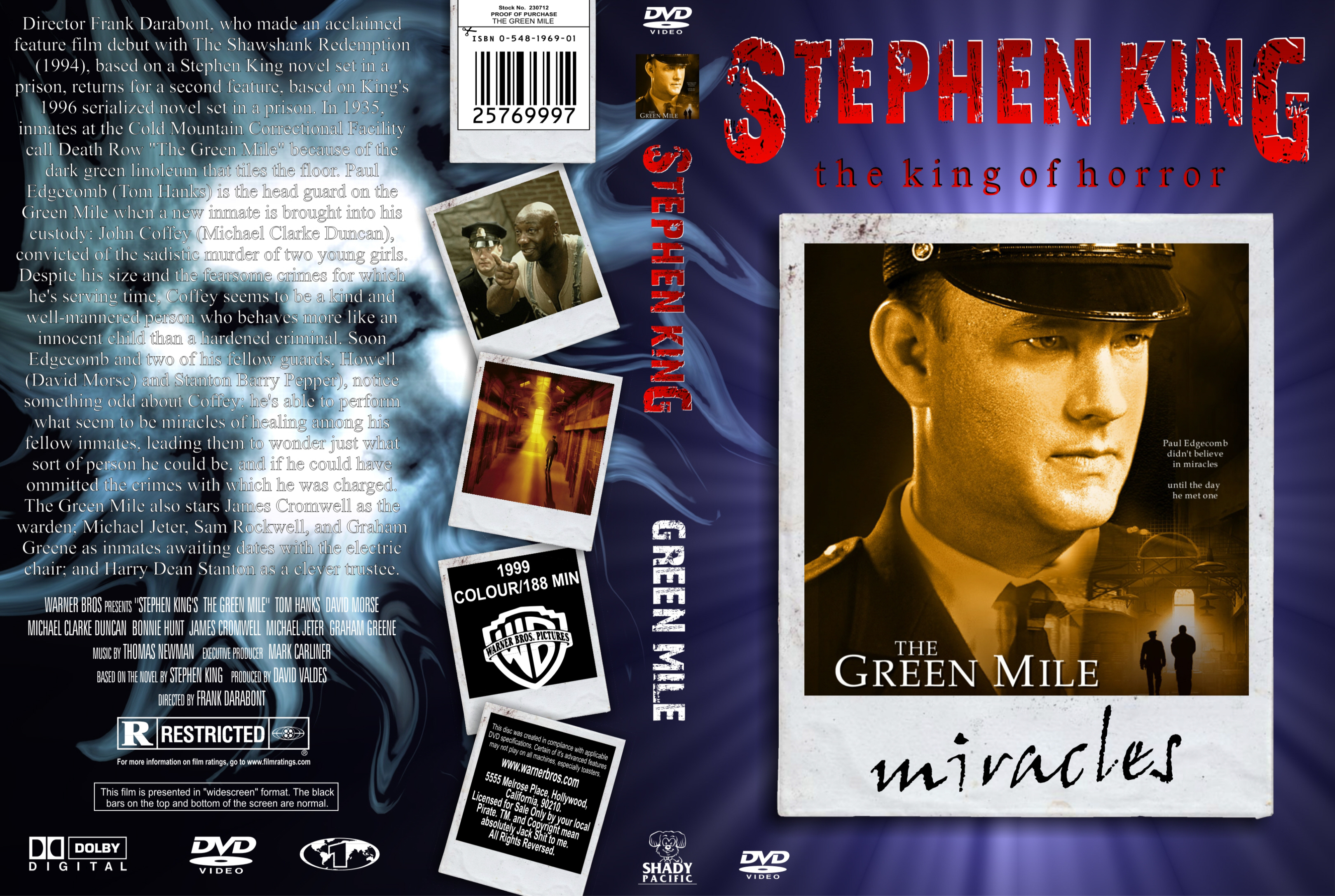a plot overview of stephen kings the green mile