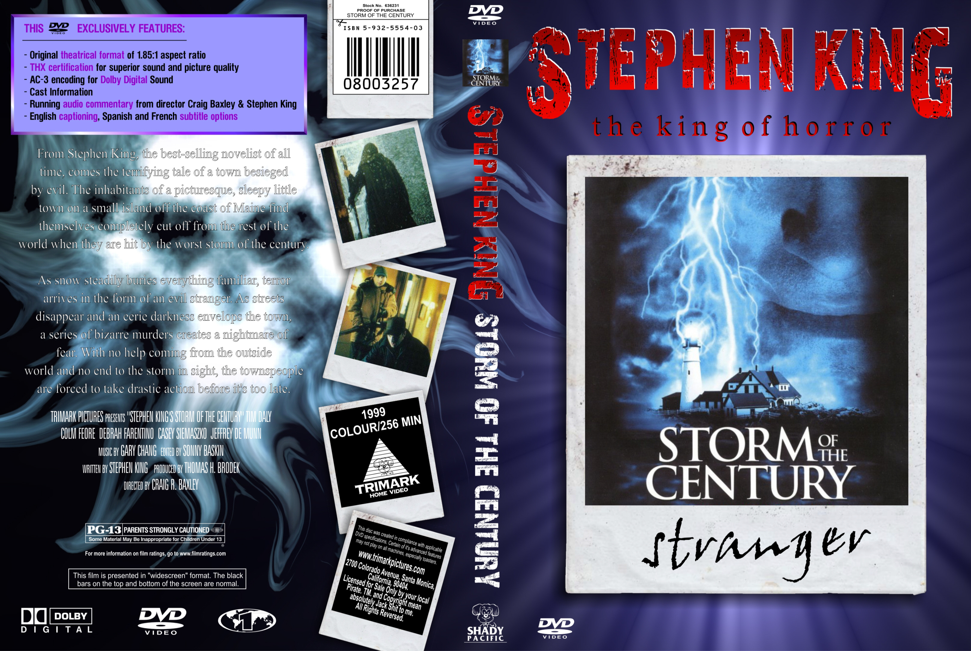 Covers Box Sk Stephen King S Storm Of The Century High