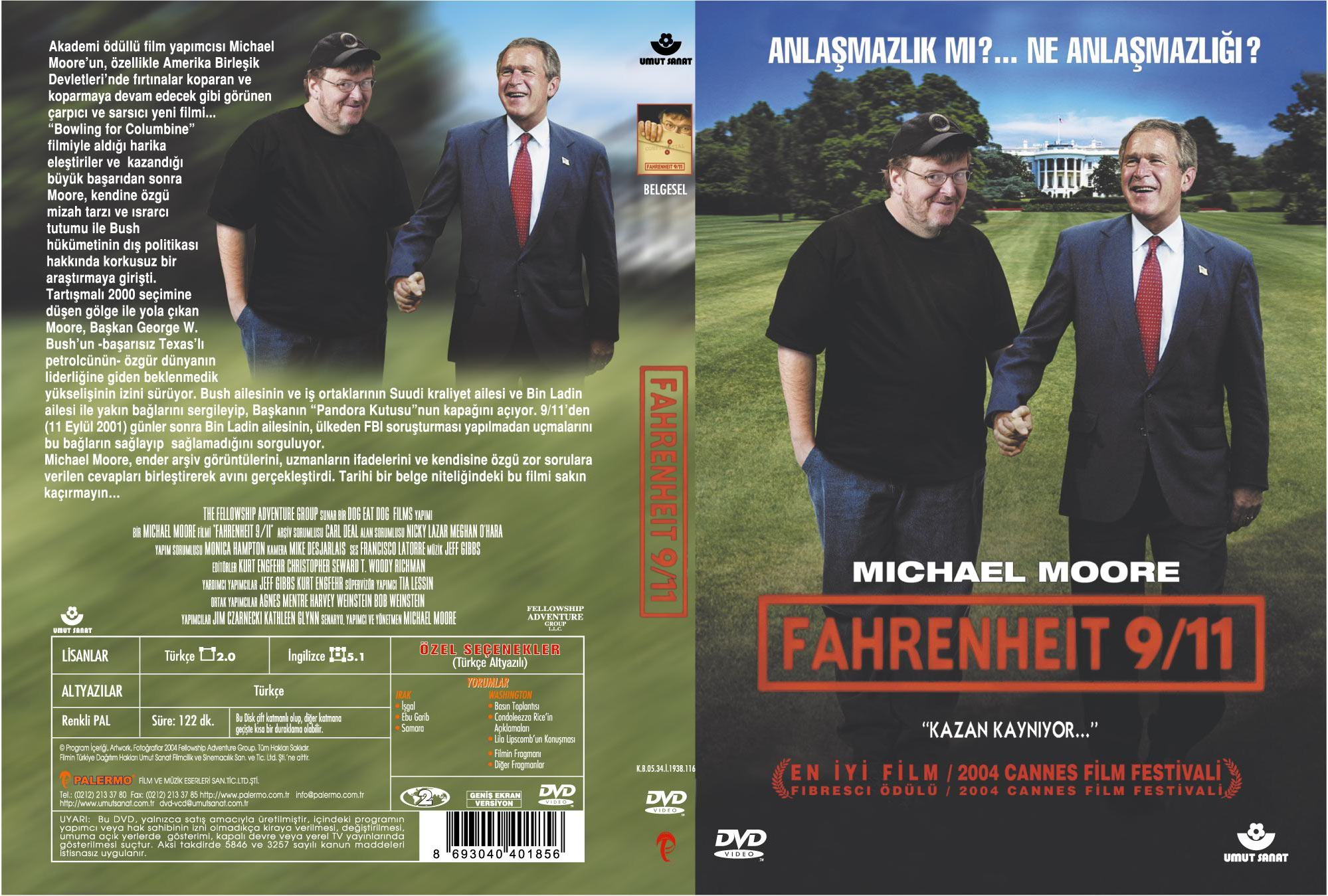 Songs And Artists That Inspired Fahrenheit 911
