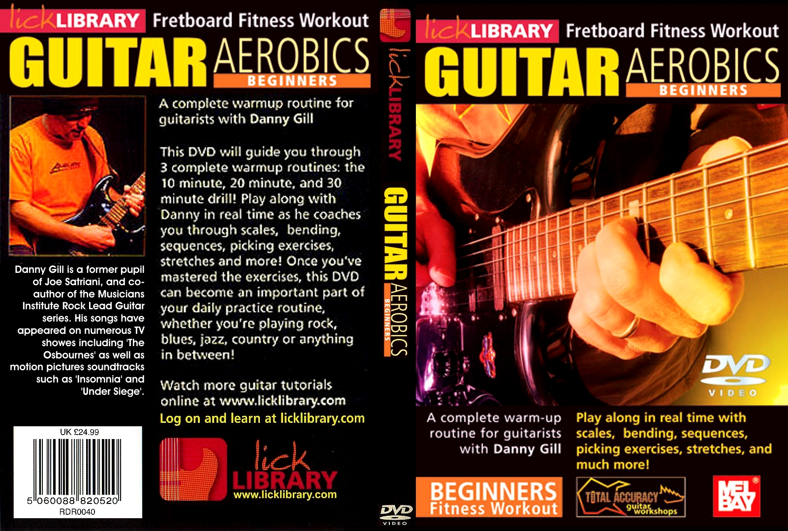 Are not lick library guitar aerobics