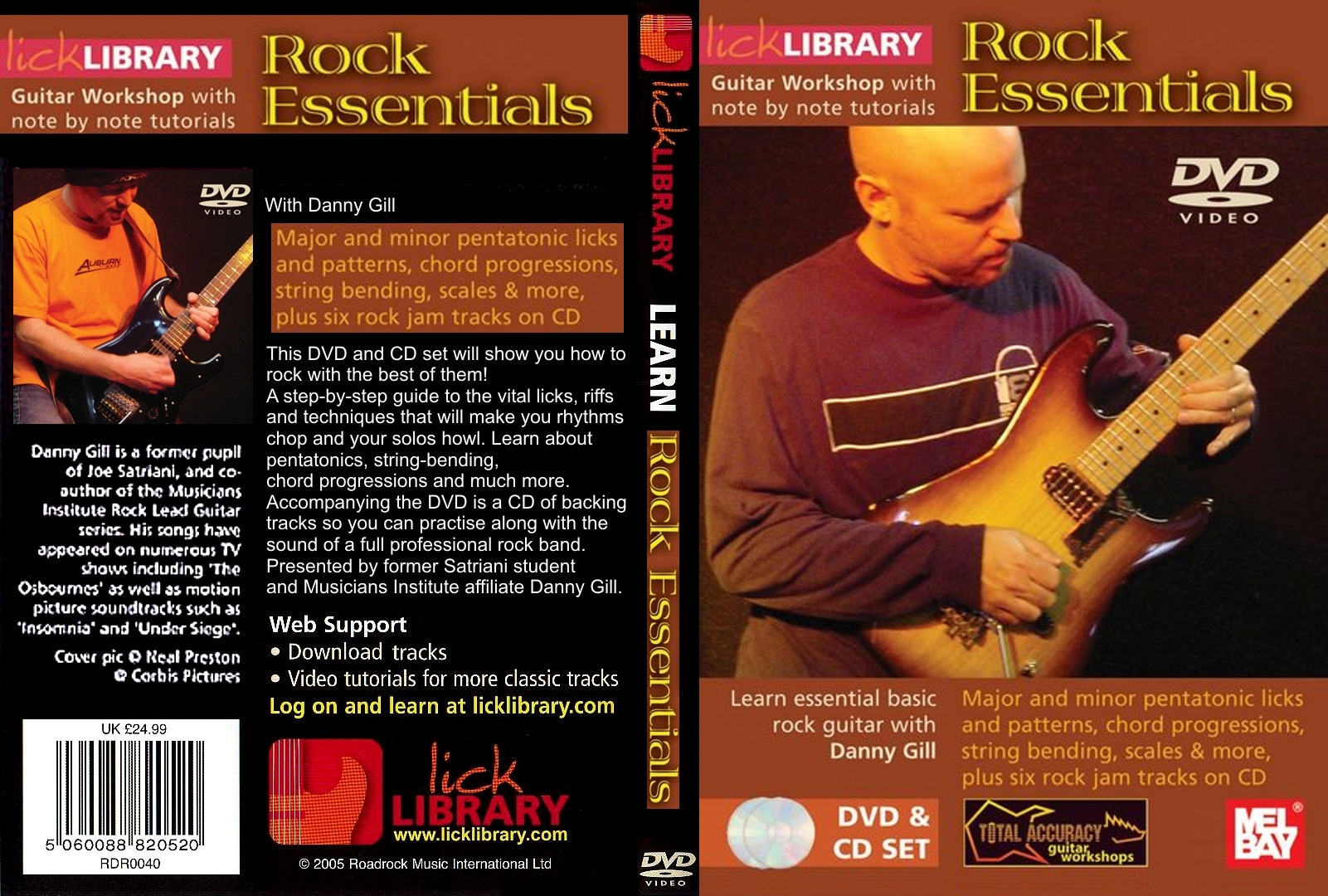 lick library covers