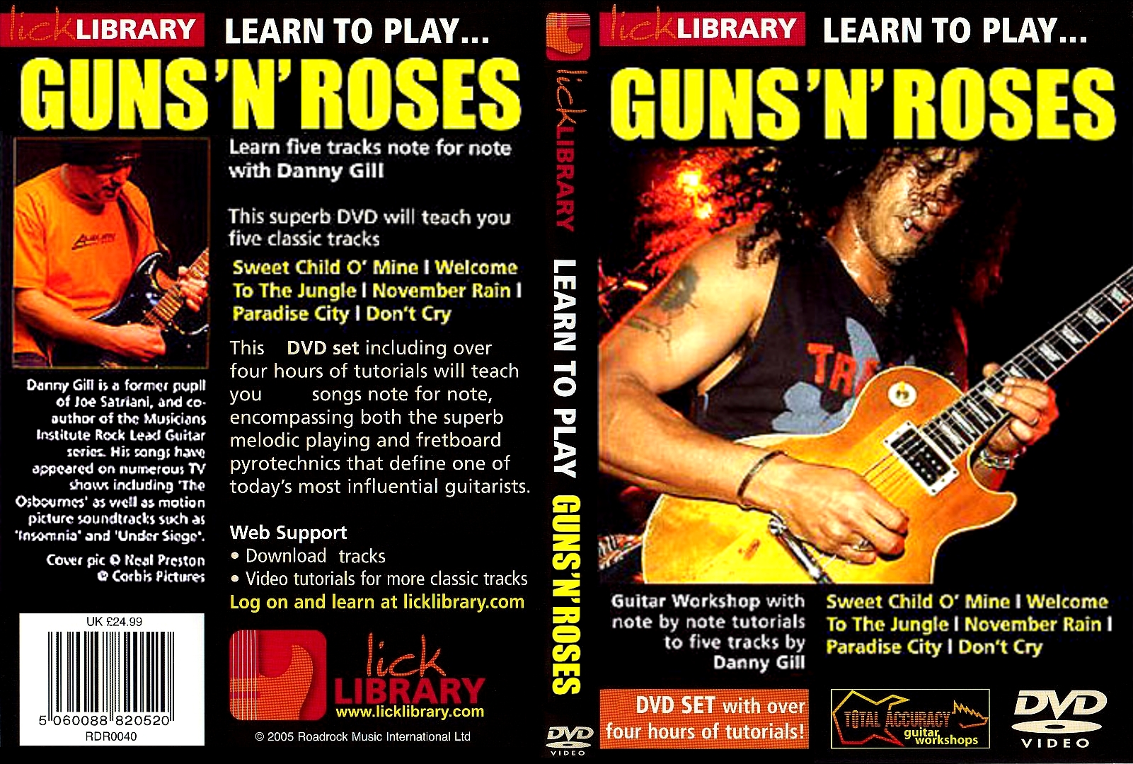 Opinion lick library guitar series