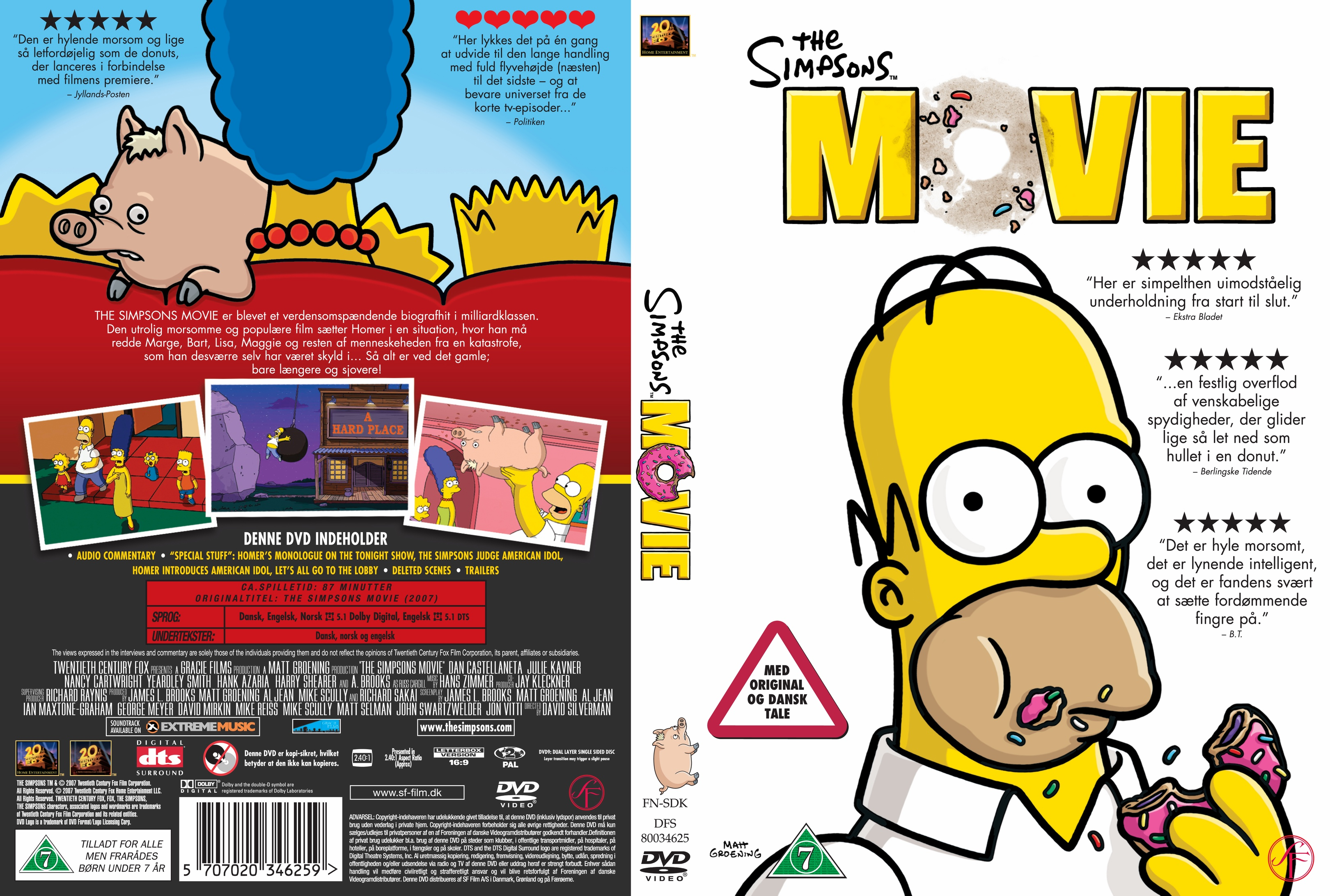 File The Simpsons Movie Soundtrack Cover Jpg The Simpsons Movie Images Pictures Photos Icons And Wallpapers Ravepad The Place To Rave About Anything And Everything