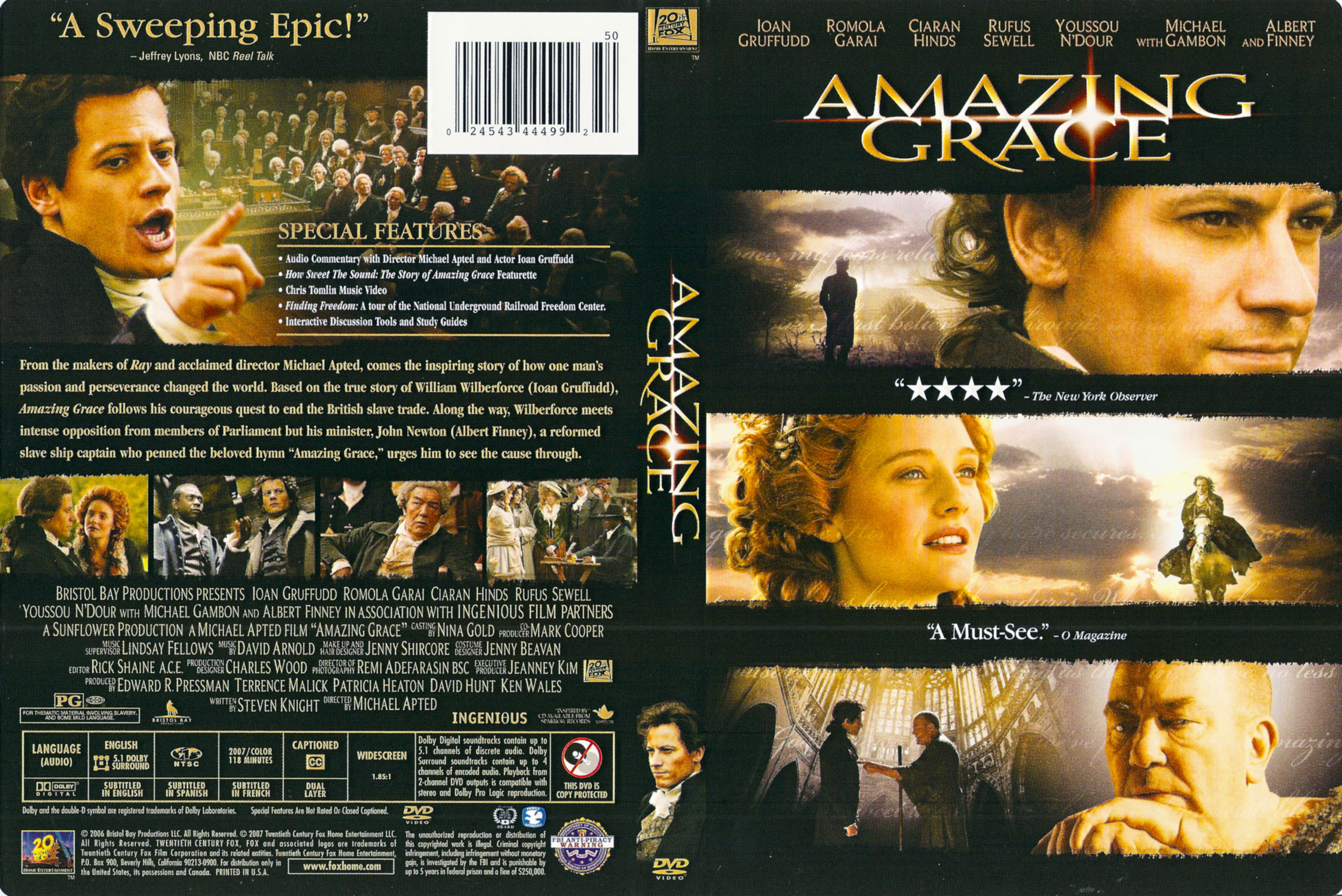 Amazing Grace  Original Cinema Movie Poster From