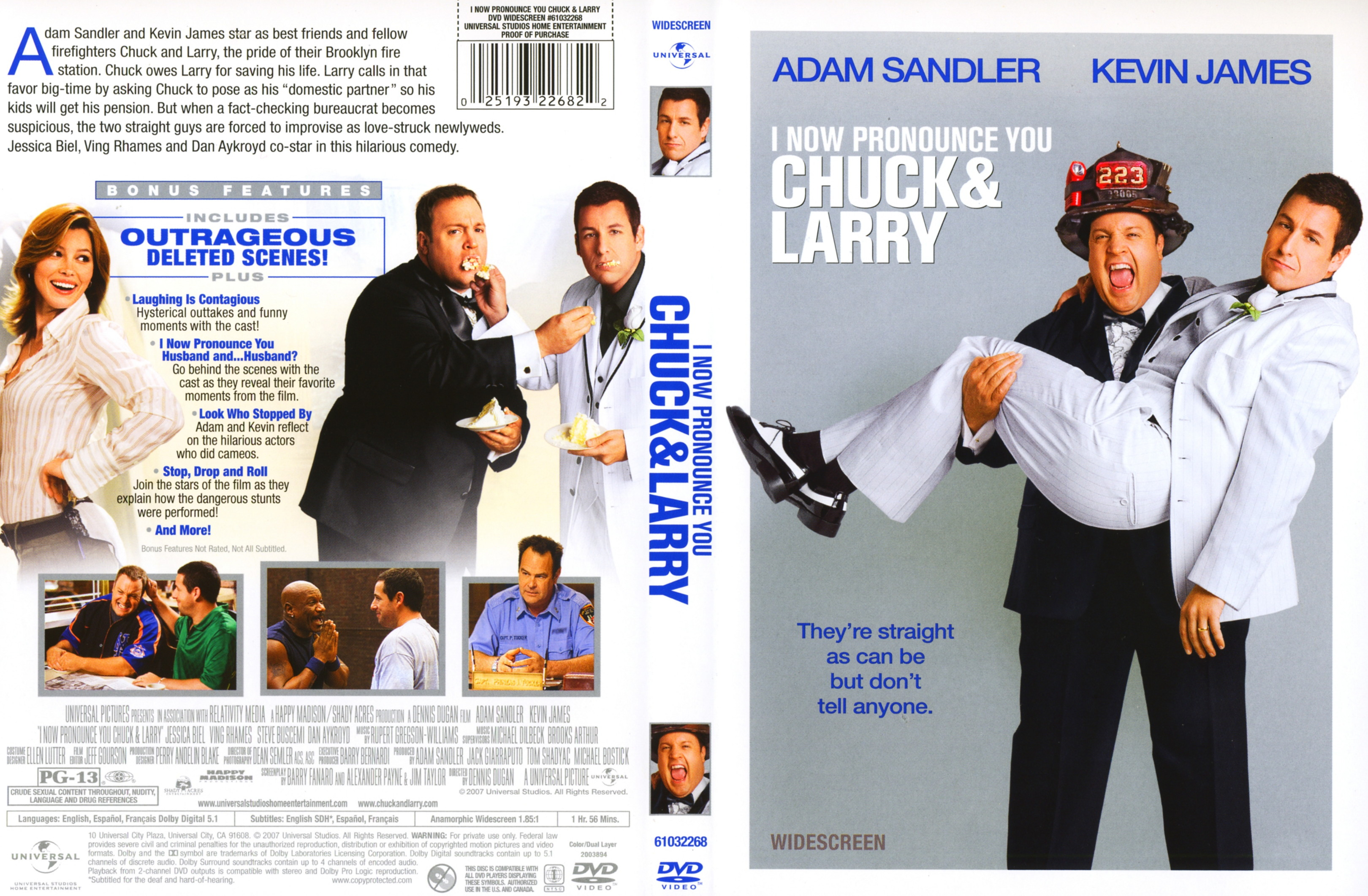 Covers Box Sk I Now Pronounce You Chuck Larry 2007 High Quality Dvd Blueray Movie