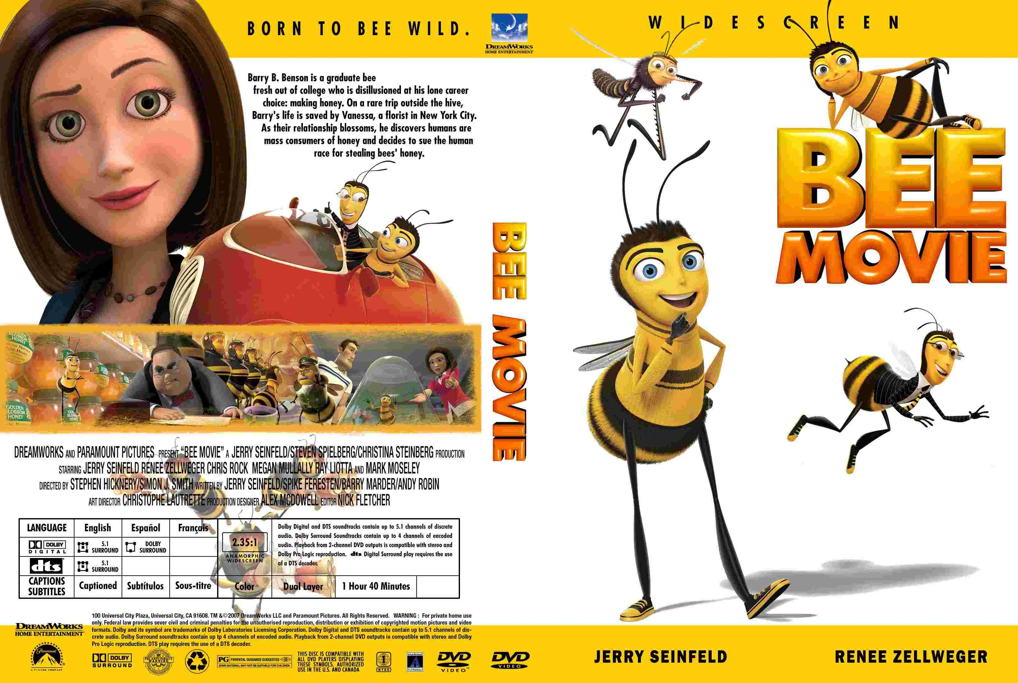 Bee Movie Dvd Bee movie (2005) ...
