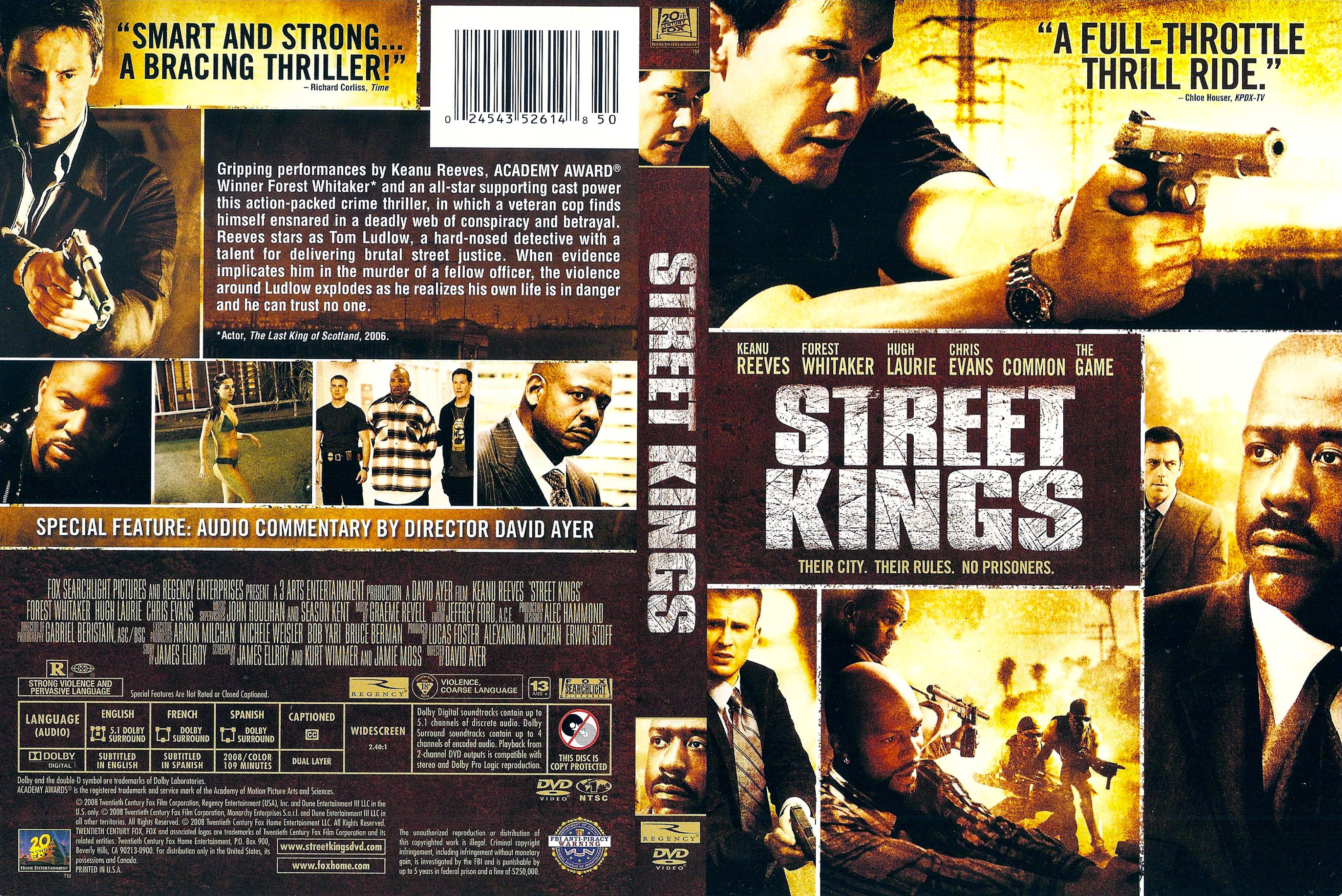 Street Kings 2008  Rotten Tomatoes