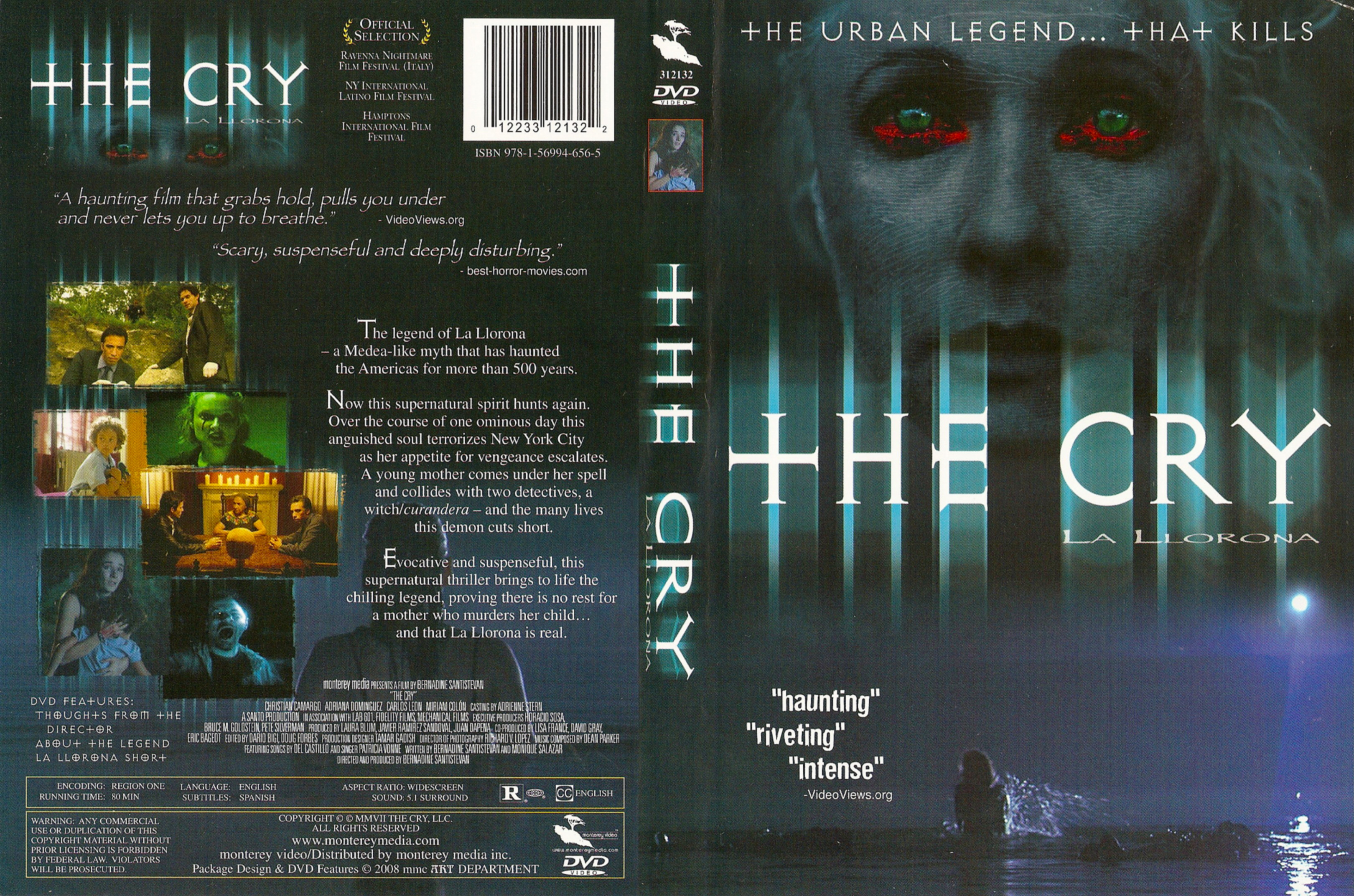 COVERS BOX SK ::: The Cry (2007) - high quality DVD / Blueray / Movie