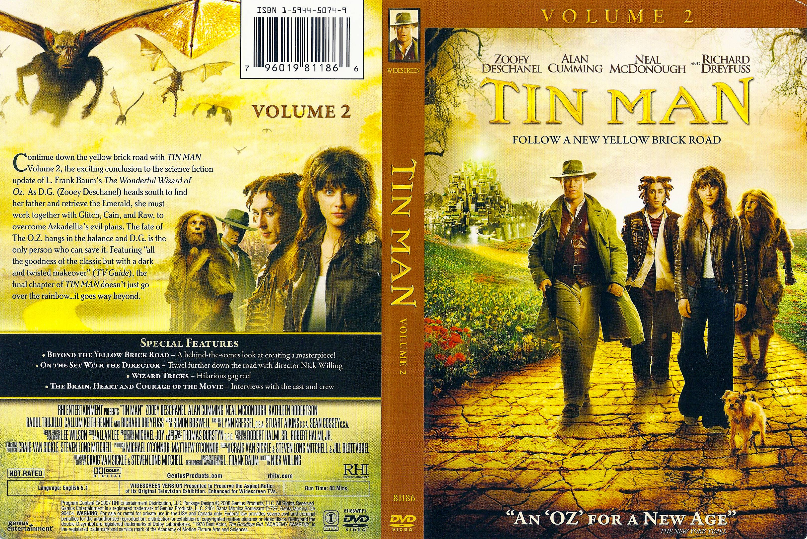 coversboxsk tin man volume 2 2007 not rated