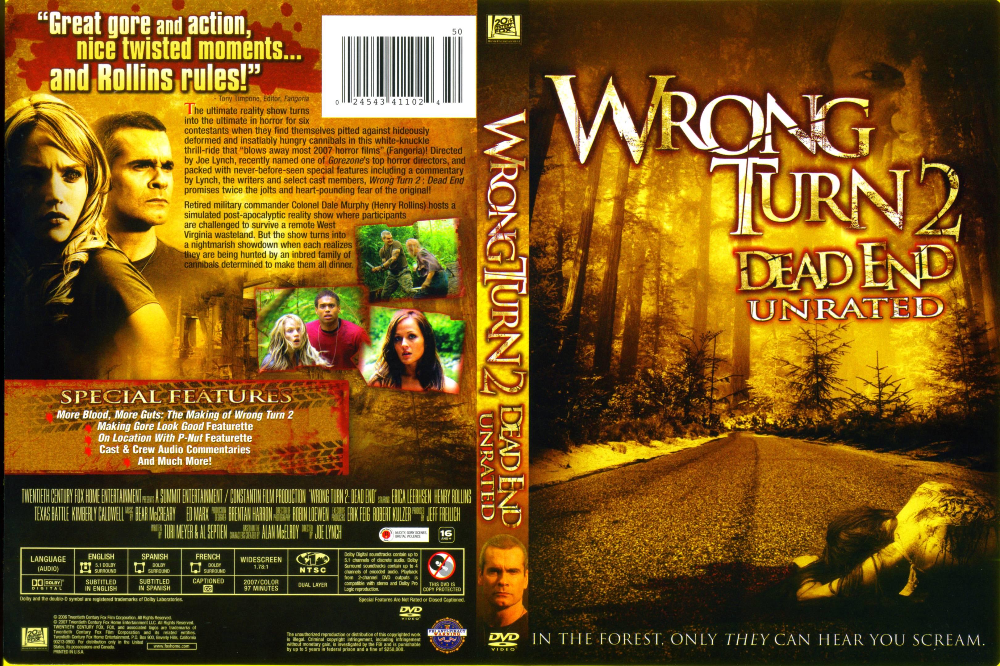 Wrong turn 4 bloody beginnings tenika davis amp kaitlyn wong movie - 1 1