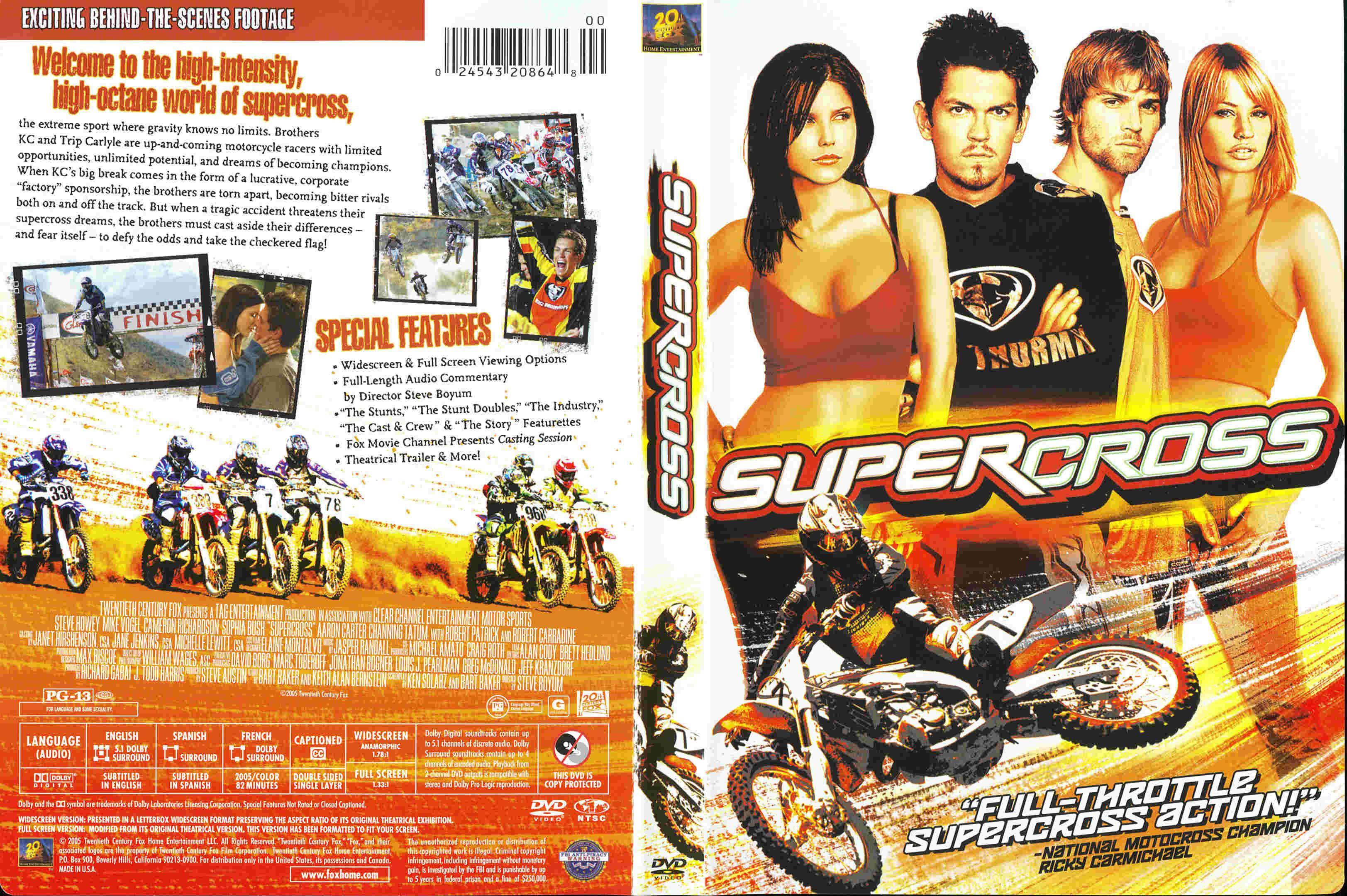 supercross (2005) - front back