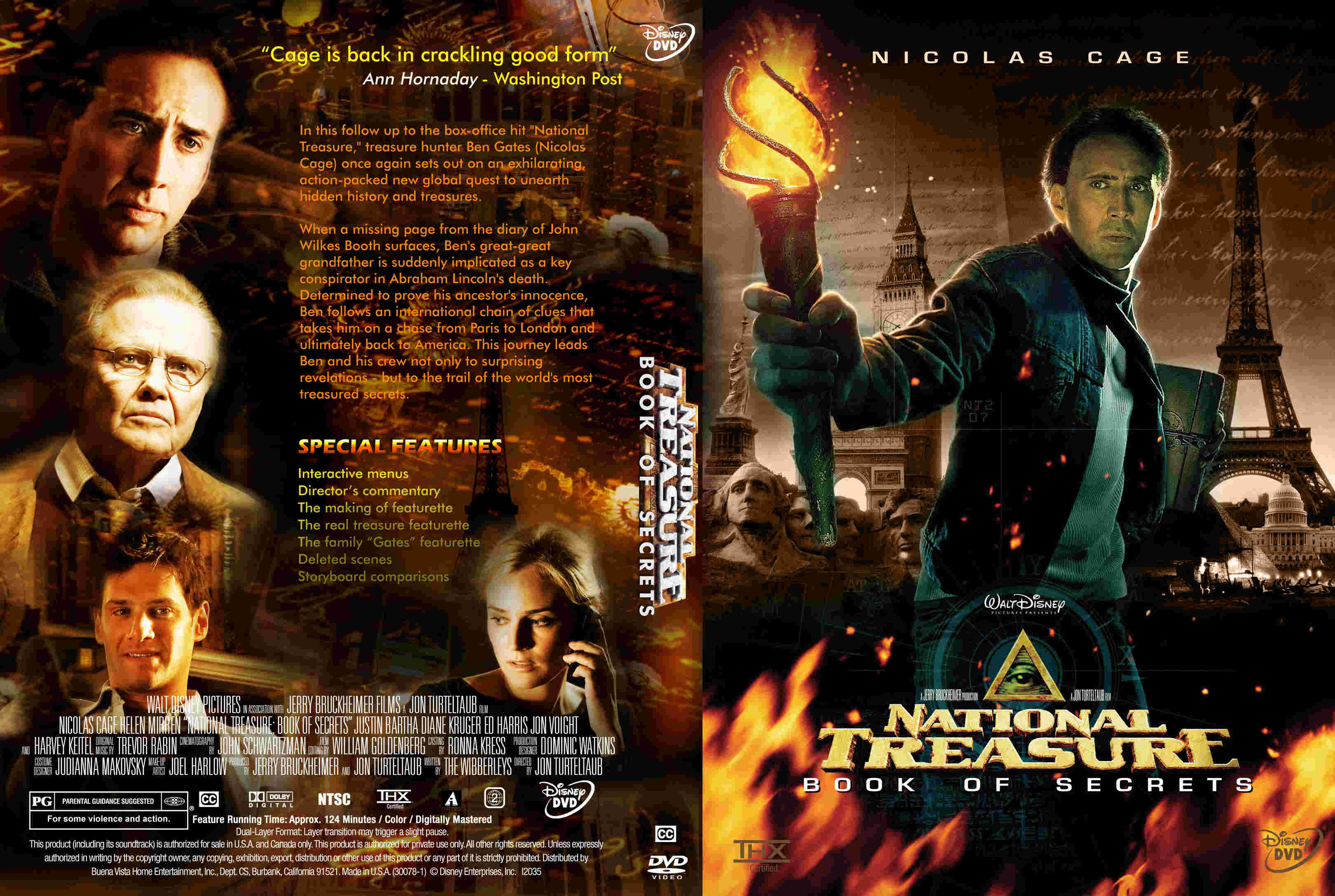 Image Gallery national treasure dvd
