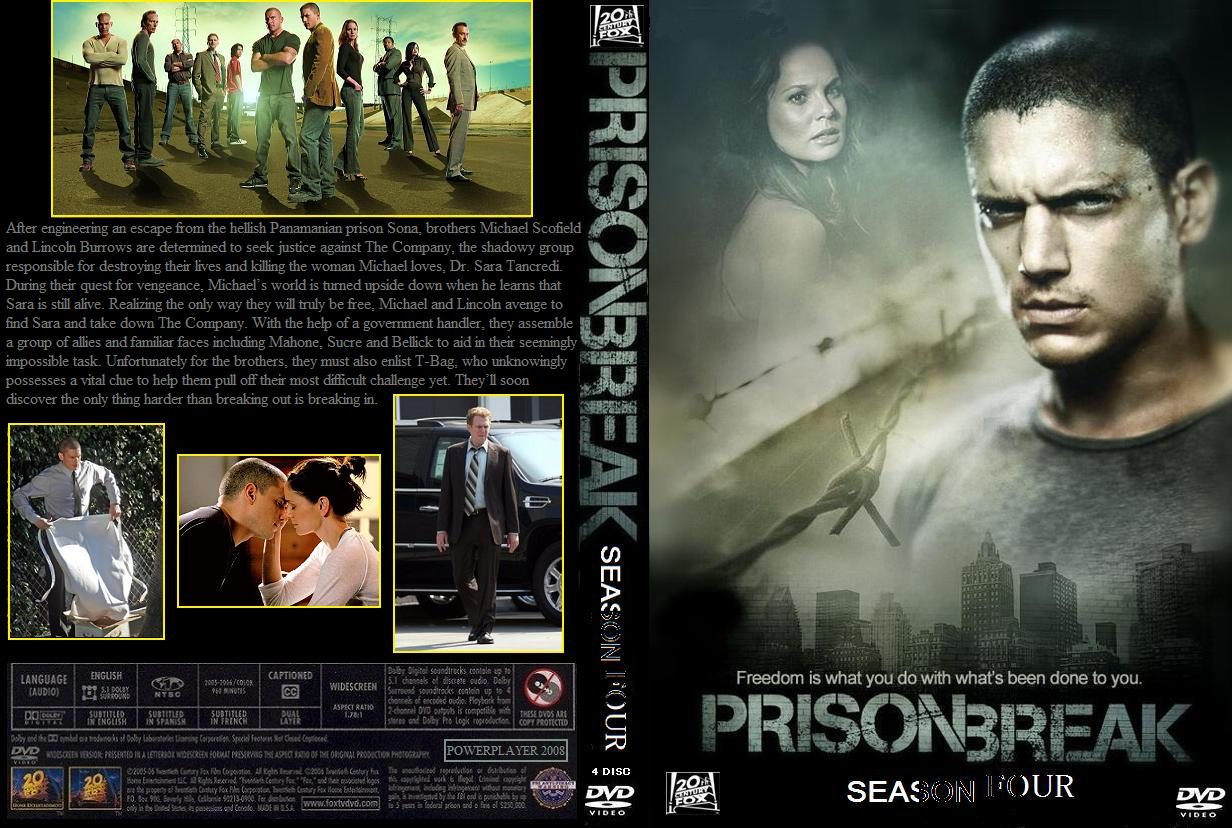 Coversboxsk Prison Break Season 4 High Quality Dvd