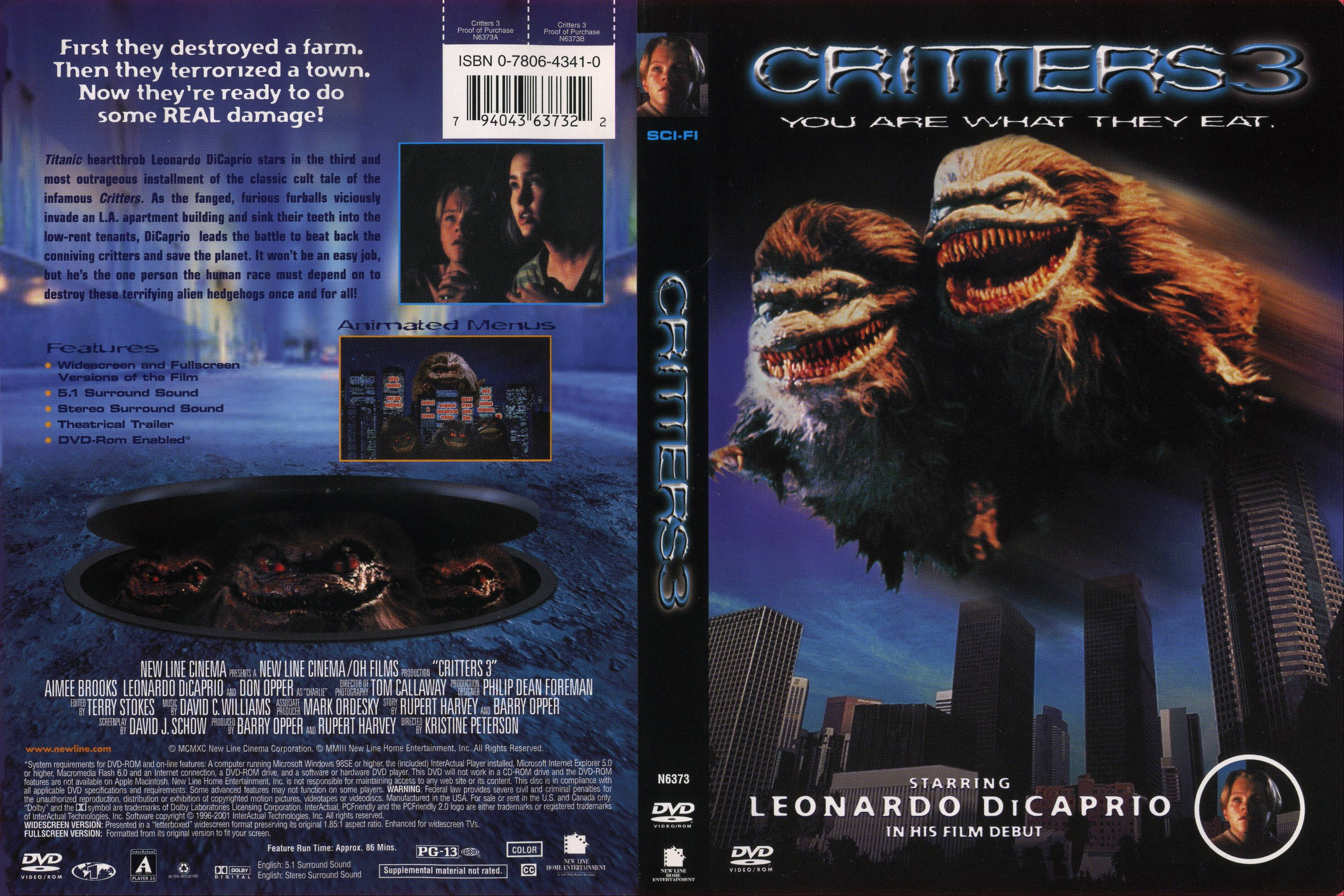coversboxsk critters 3 1991 high quality dvd