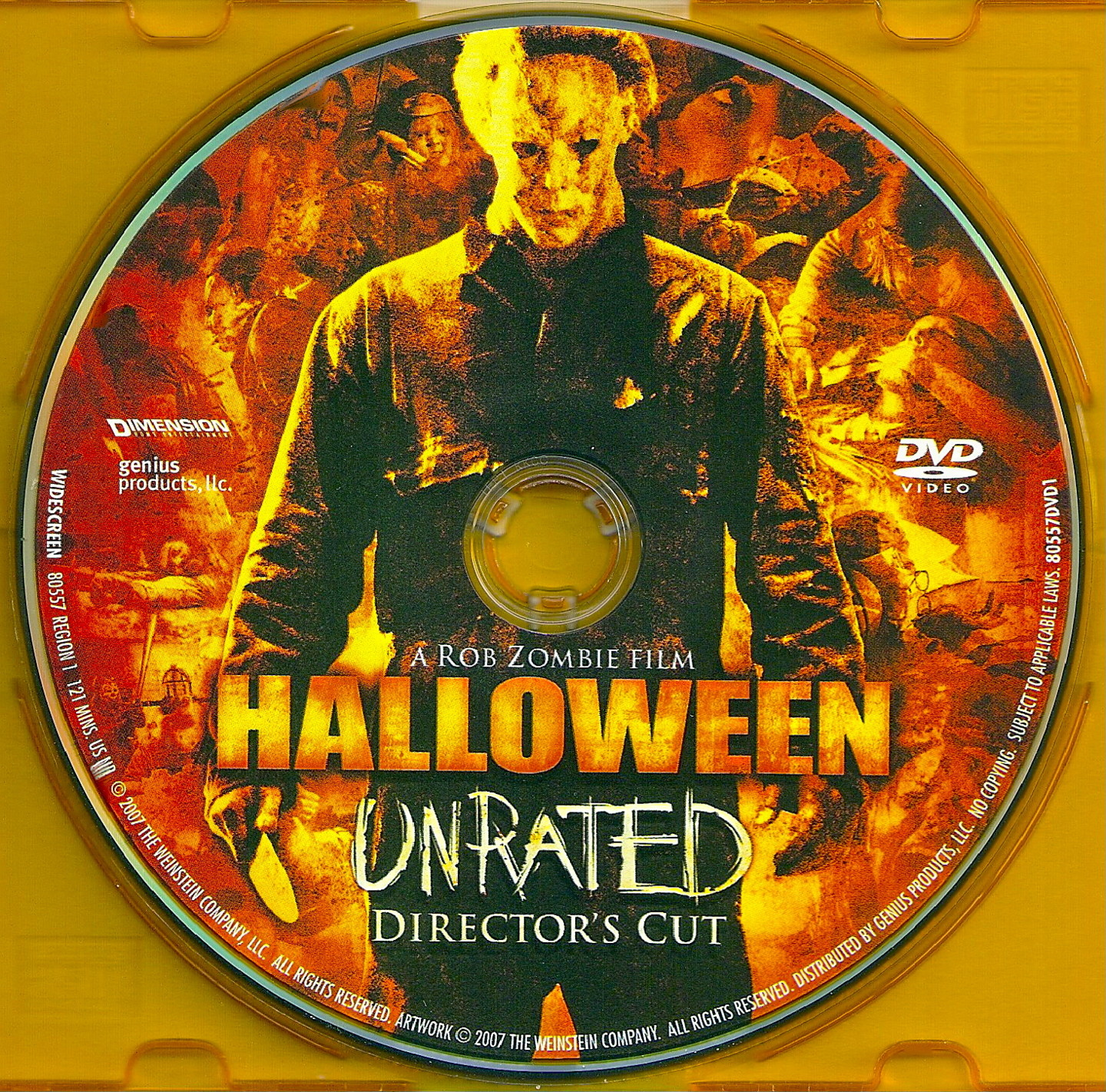 COVERS.BOX.SK ::: Halloween (2007) UNRATED DC - high quality DVD ...