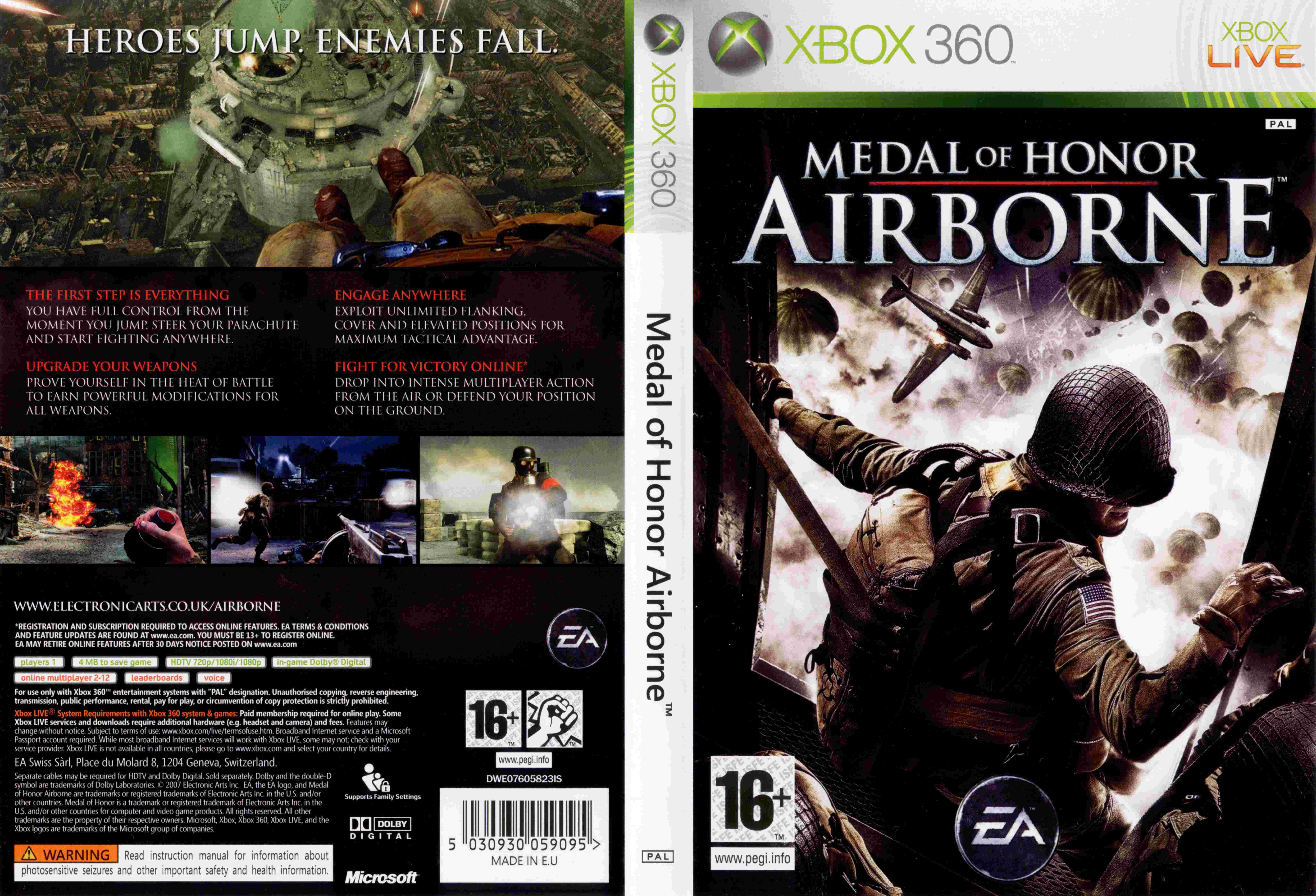 Medal of honor: airborne shooter video games | ebay.