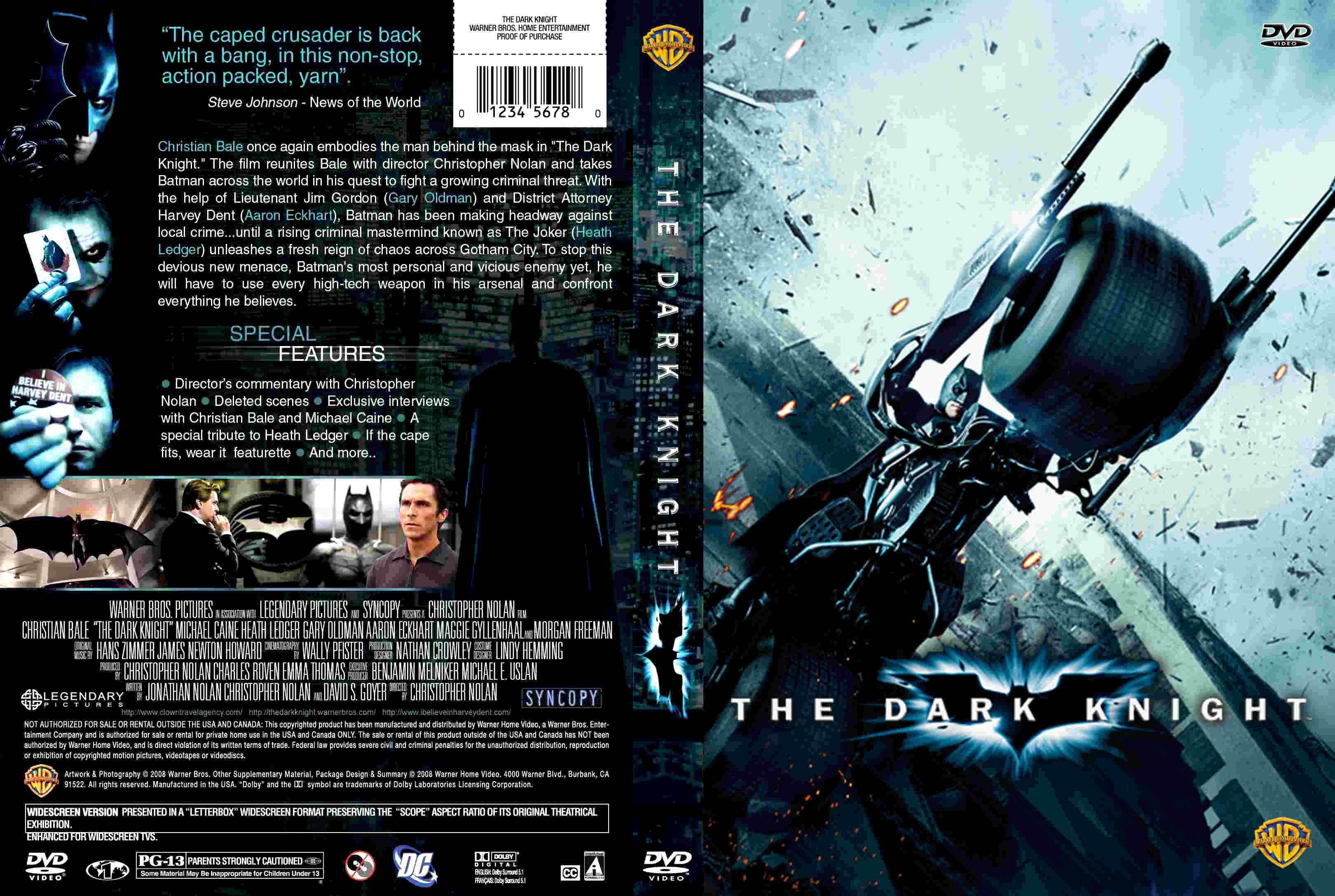 coversboxsk batman the dark knight high quality