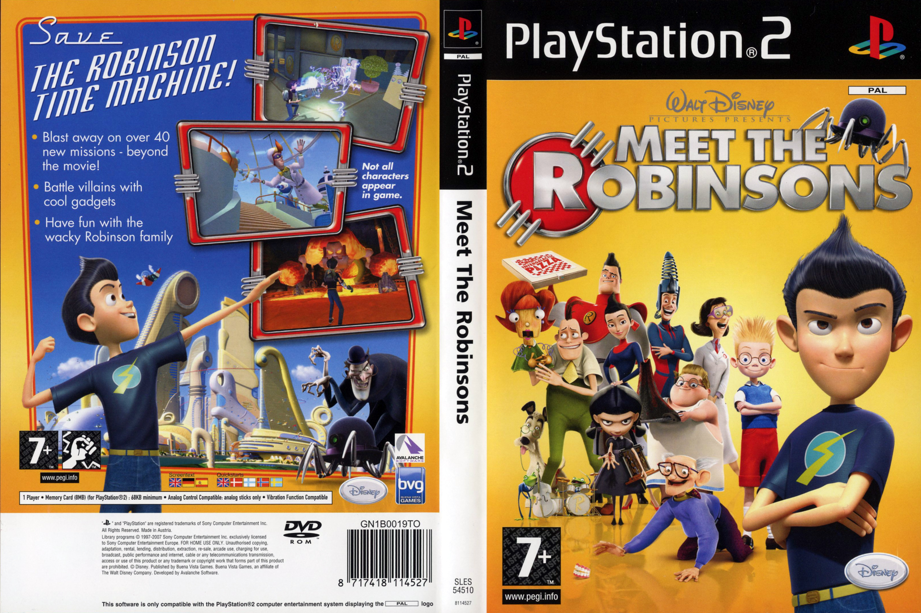 covers box sk meet the robinsons high quality dvd blueray