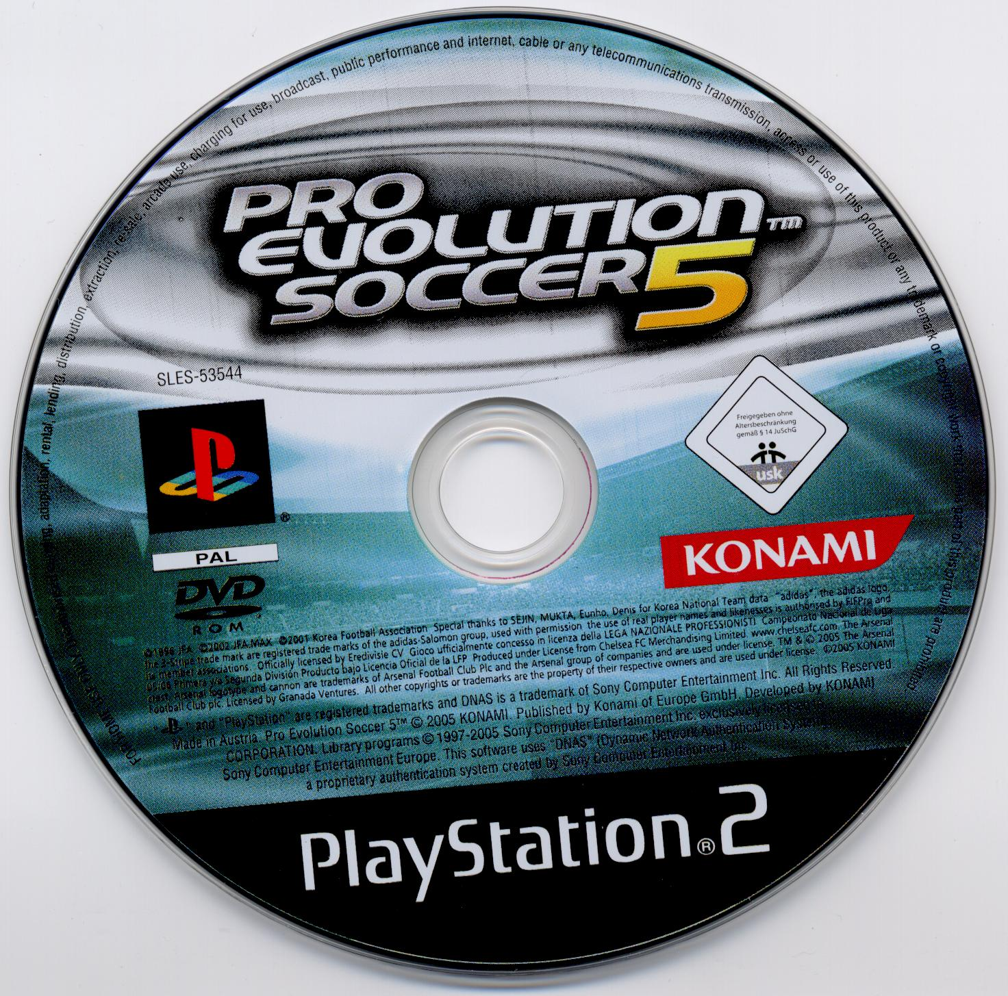 COVERS BOX SK ::: pro evolution soccer 5 - high quality DVD