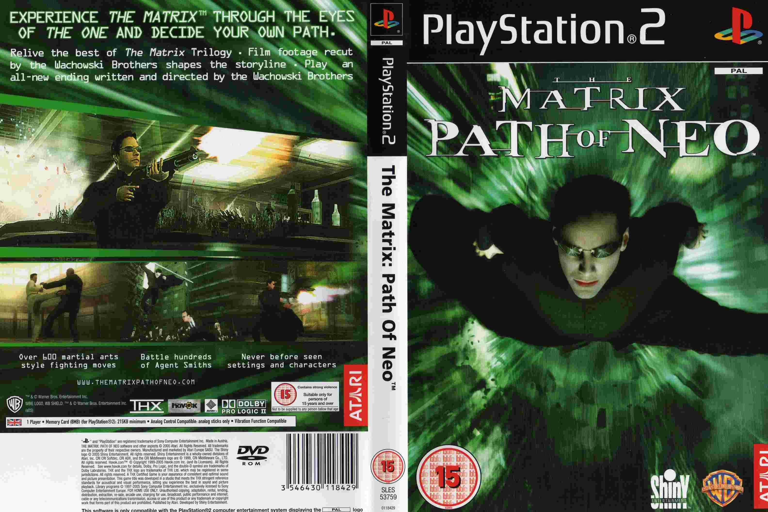 The Matrix: Patho of Neo